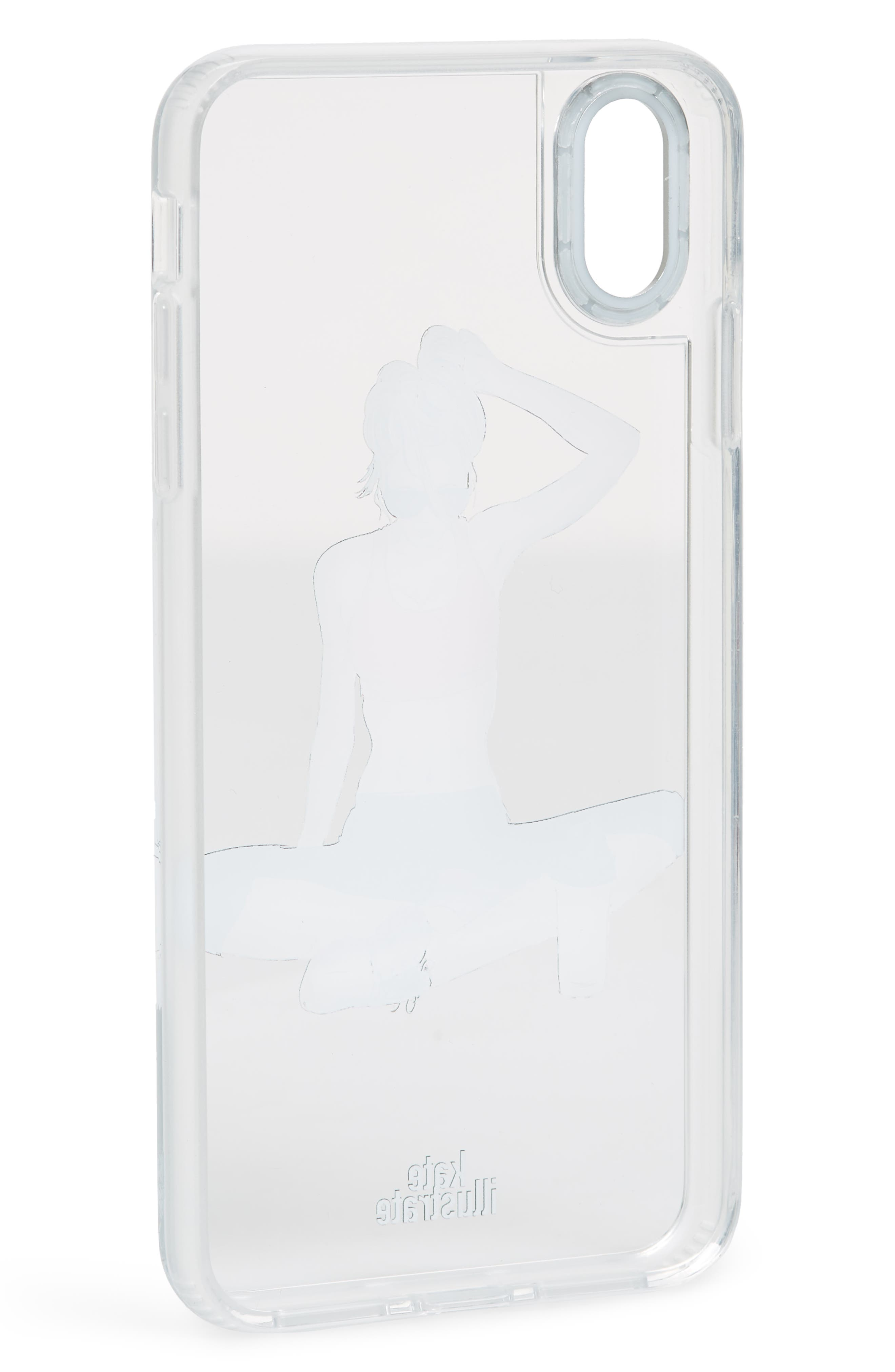 CASETIFY,                             Workout Grip iPhone X/Xs/Xs Max & XR Case,                             Alternate thumbnail 2, color,                             RED MULTI/ CLEAR
