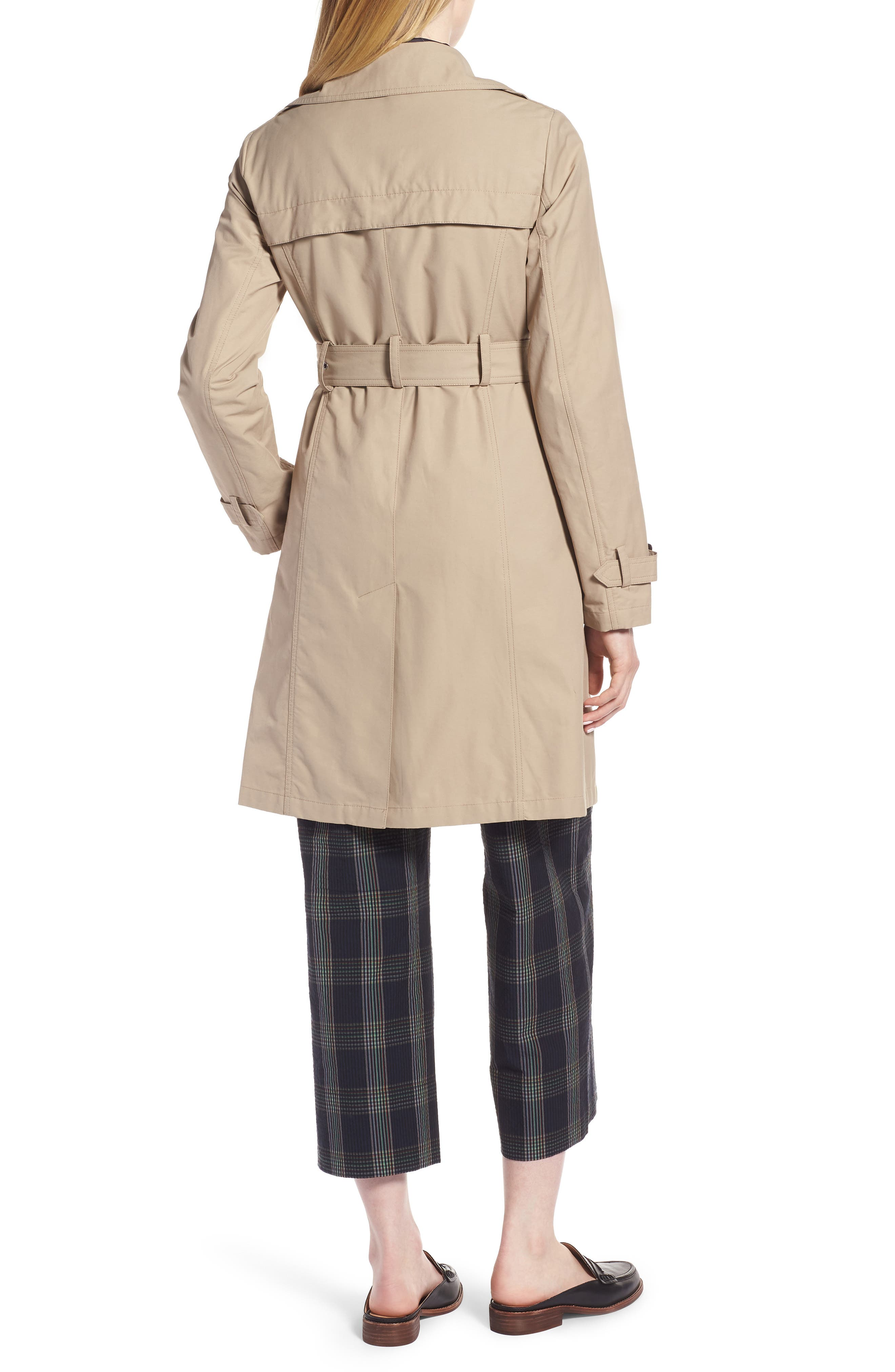 3-in-1 Trench Coat with Vest,                             Alternate thumbnail 3, color,                             299