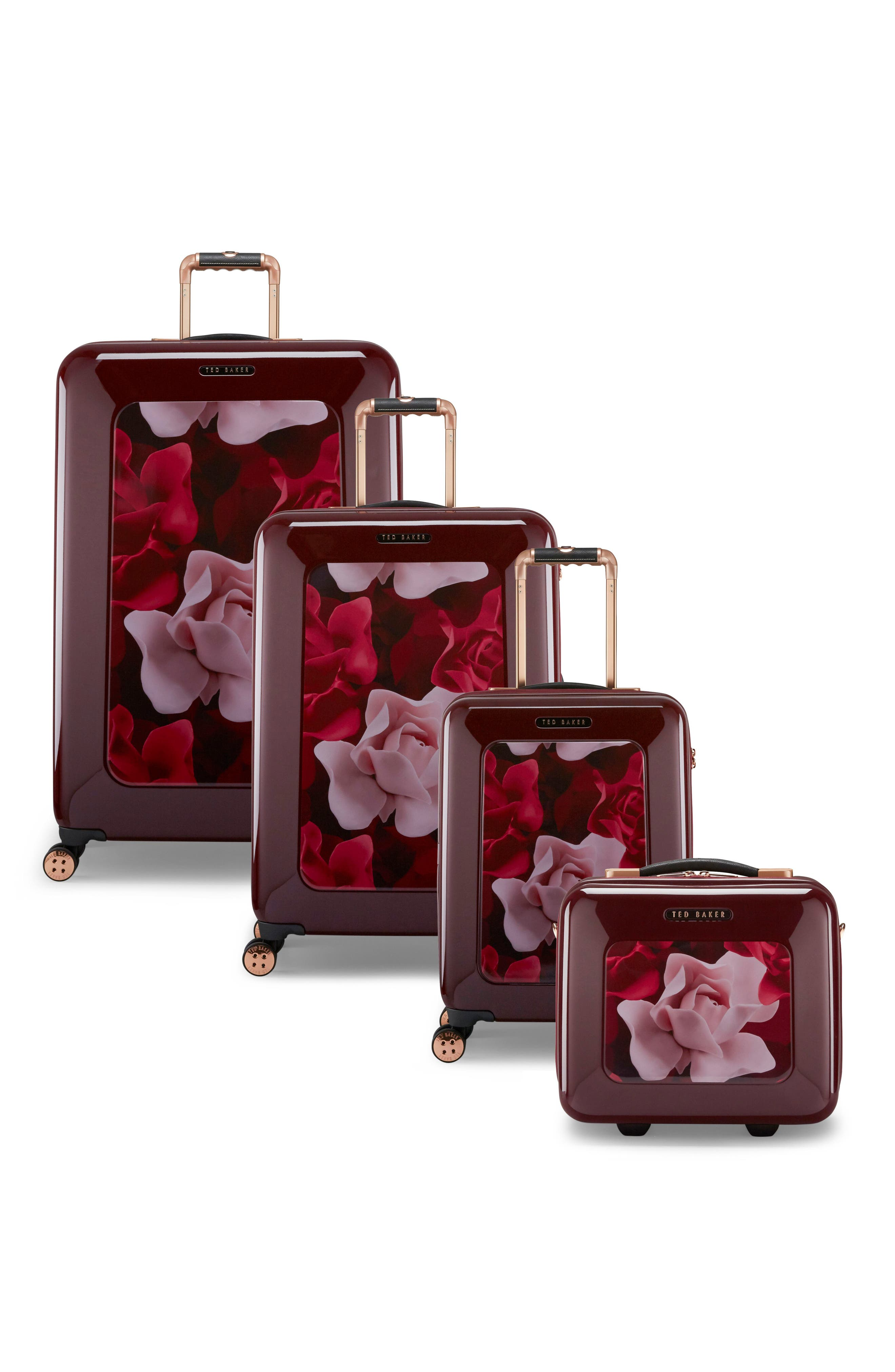 Large Porcelain Rose 31-Inch Hard Shell Spinner Suitcase,                             Alternate thumbnail 11, color,                             930