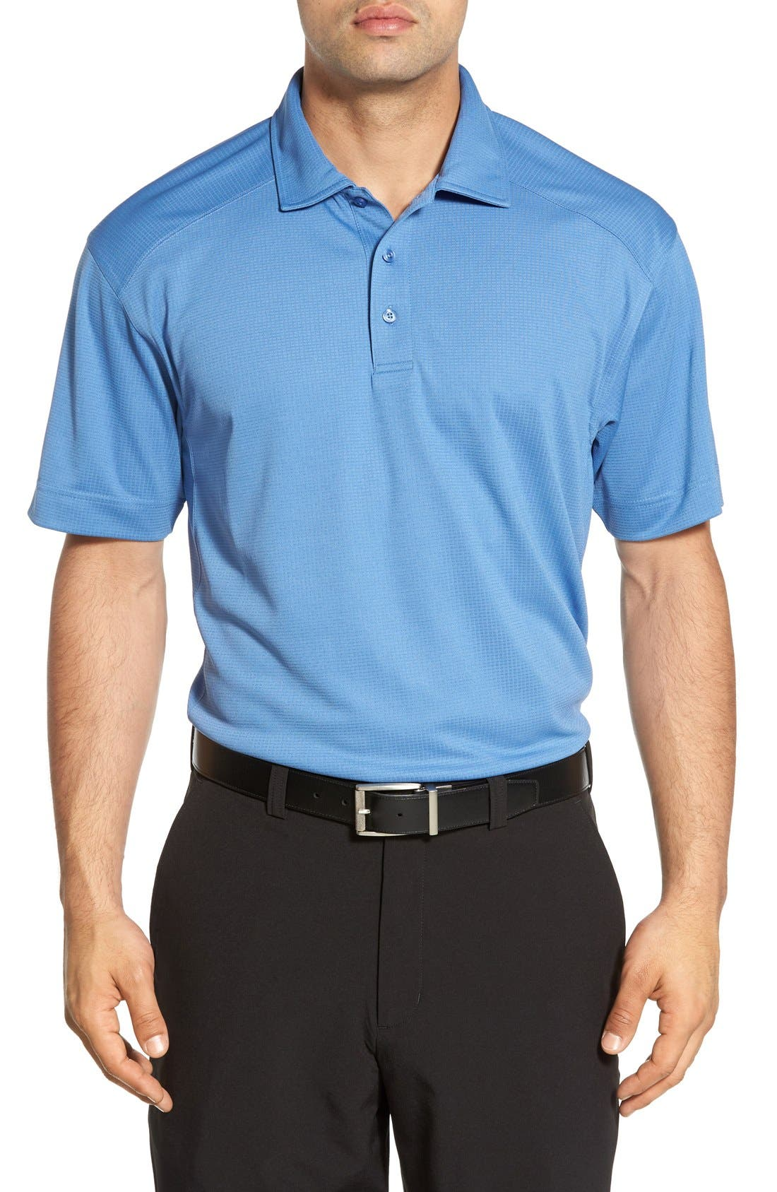 'Genre' DryTec Moisture Wicking Polo, Main, color, SEA BLUE