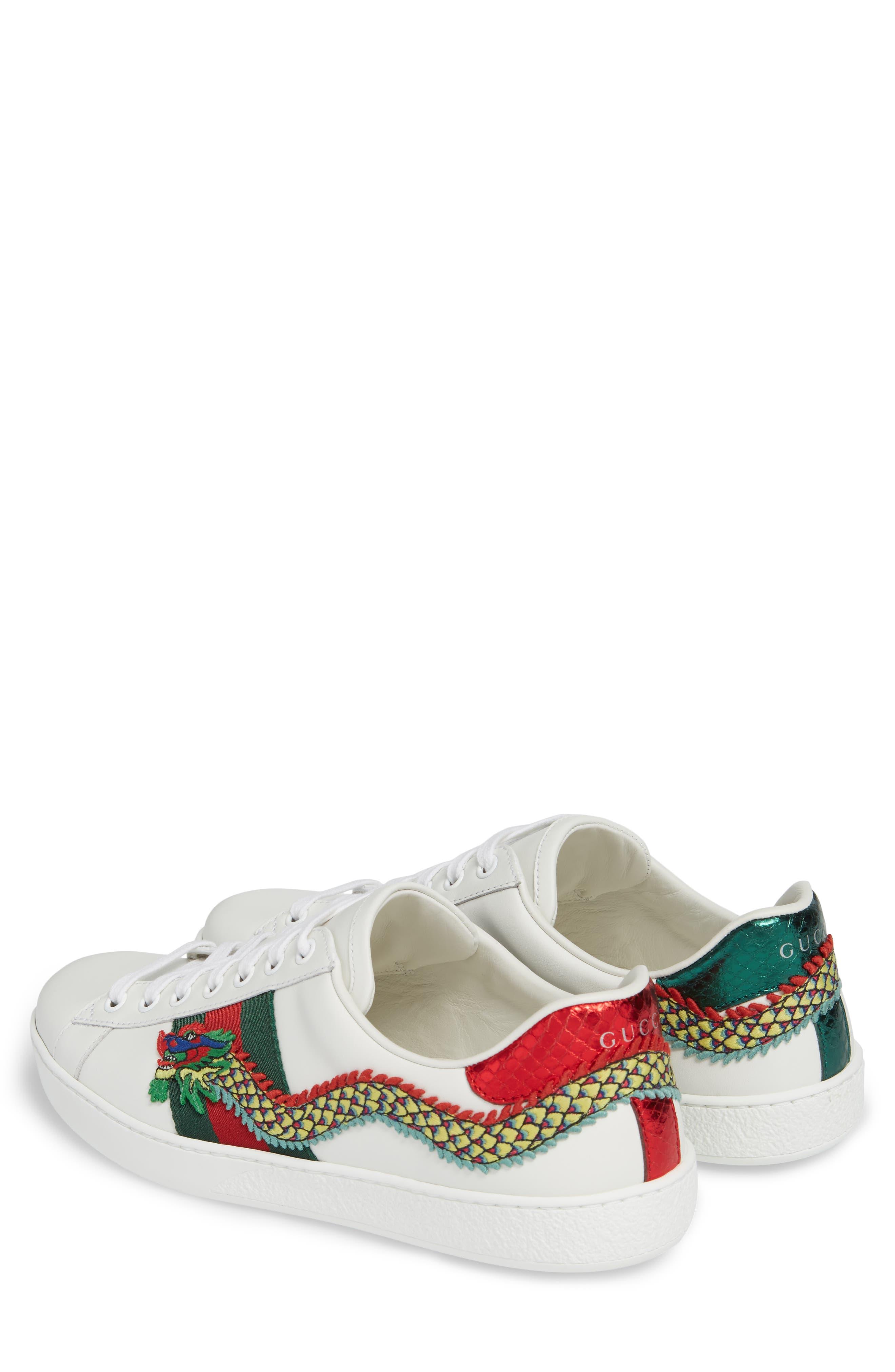 New Ace Dragon Sneaker,                             Alternate thumbnail 3, color,
