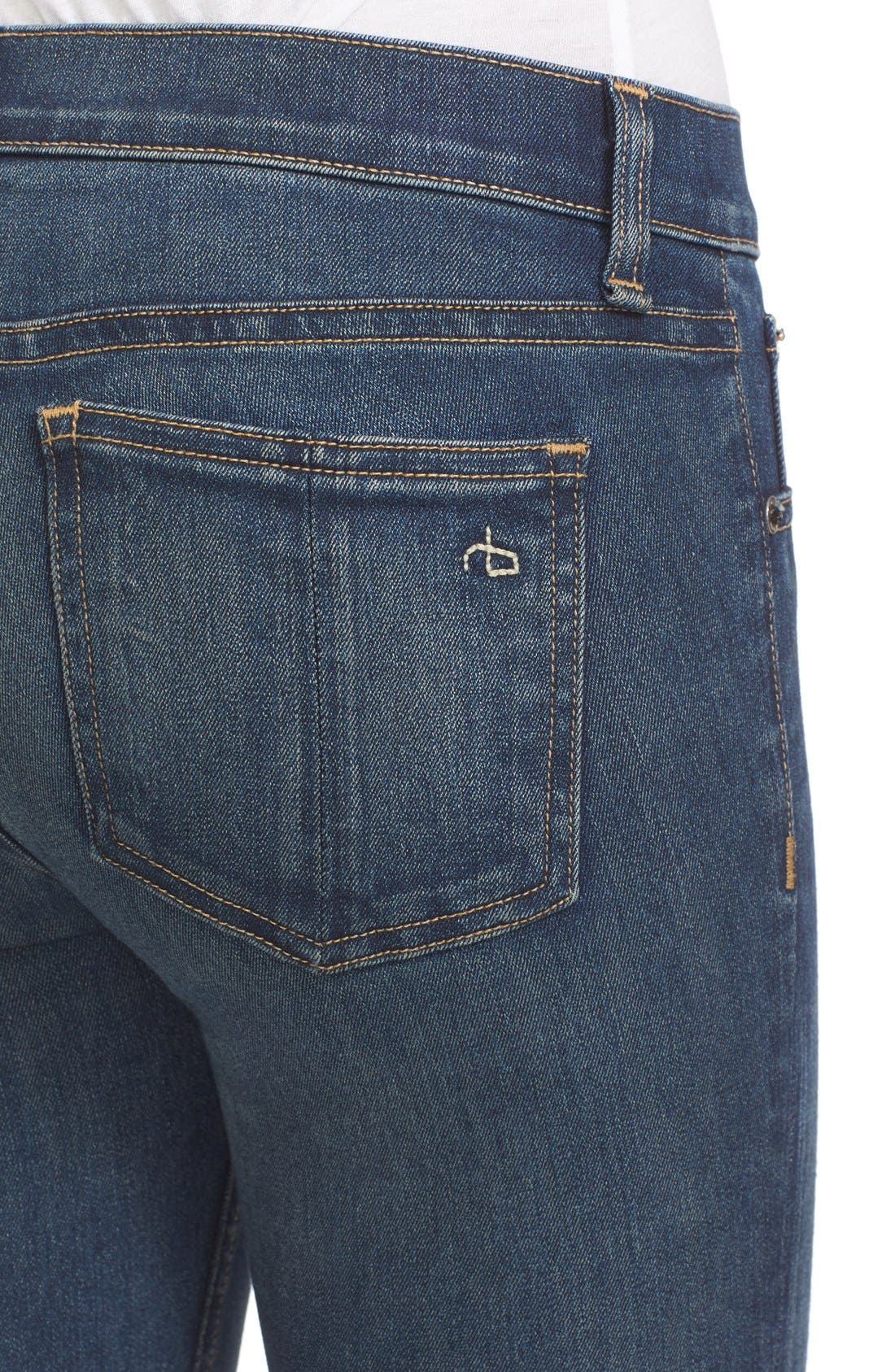Skinny Jeans,                             Alternate thumbnail 5, color,                             401