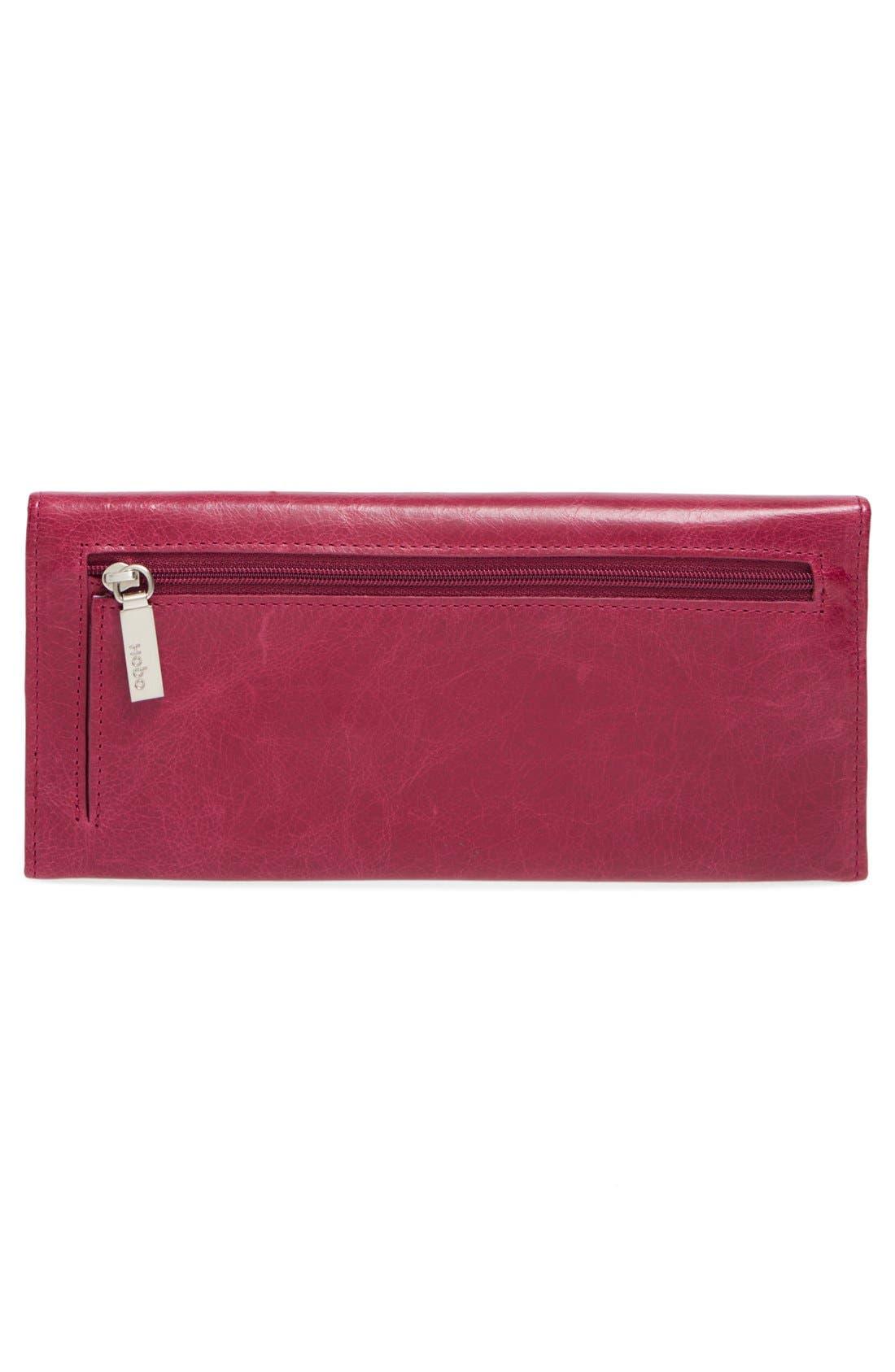 'Sadie' Leather Wallet,                             Alternate thumbnail 181, color,