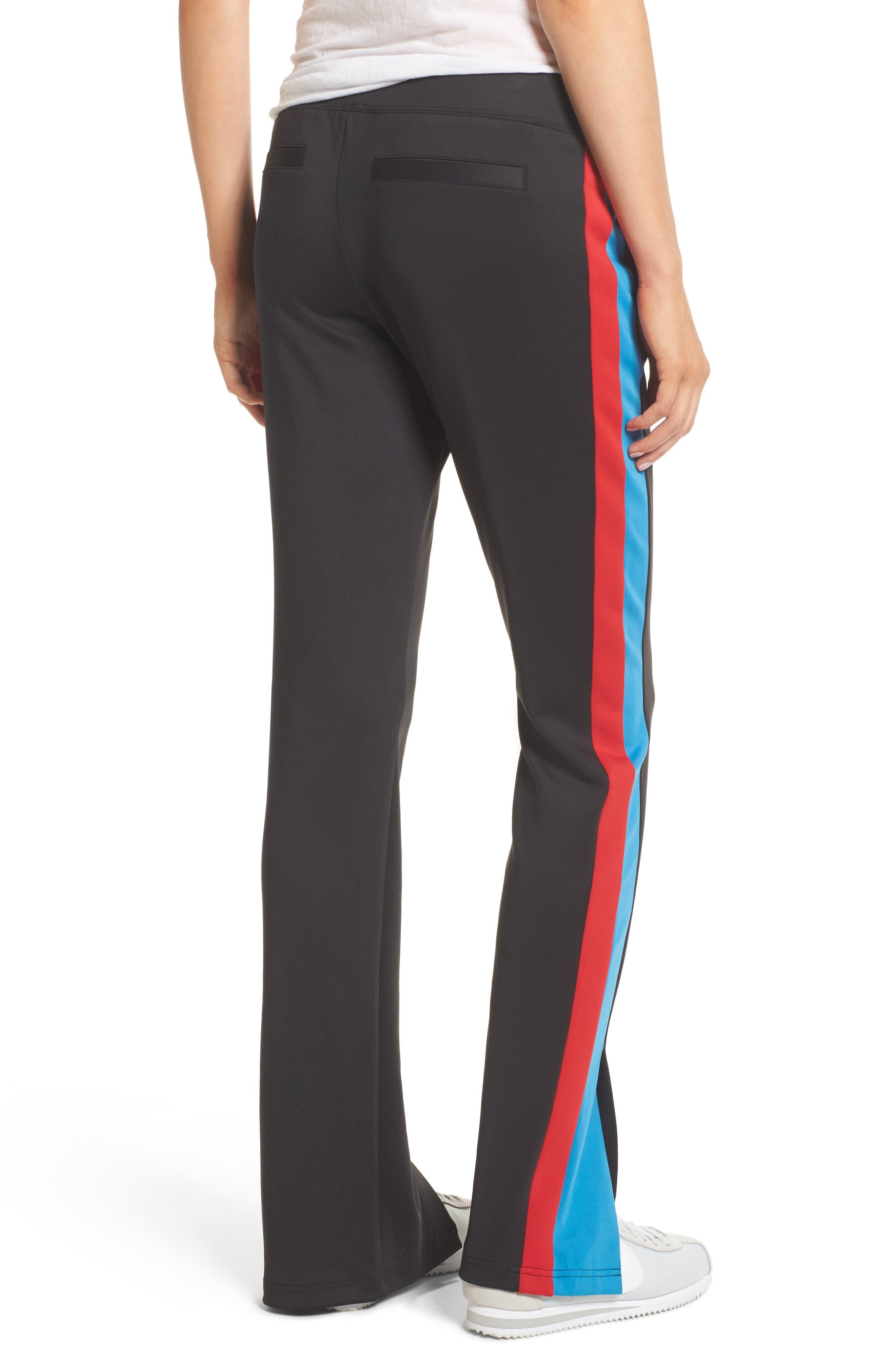 Stripe Track Pants,                             Alternate thumbnail 2, color,                             001
