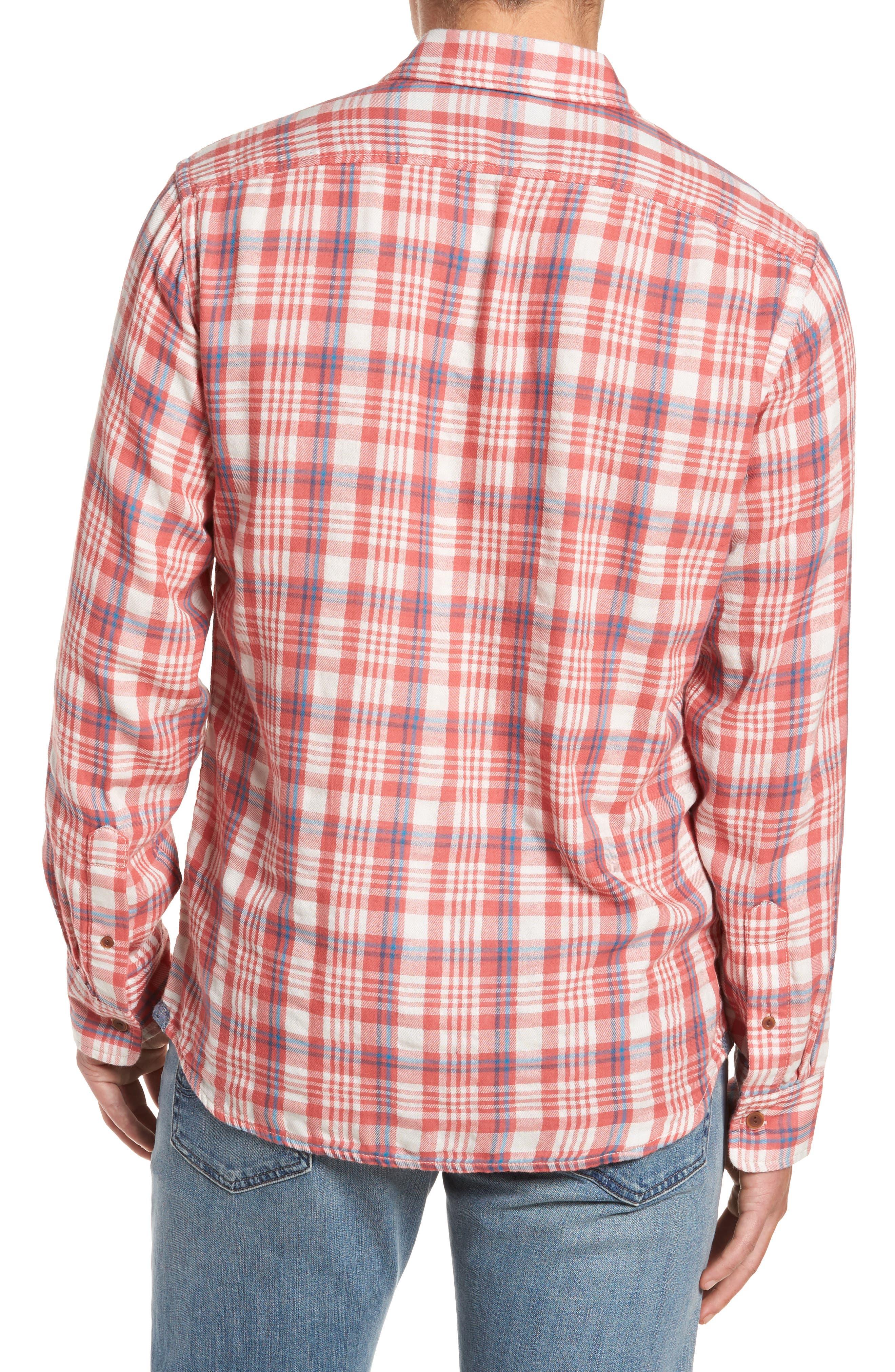 Barnard Slim Fit Plaid Sport Shirt,                             Alternate thumbnail 2, color,                             647