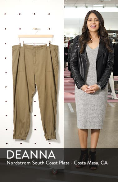 Army High Rise Crop Military Pants, sales video thumbnail