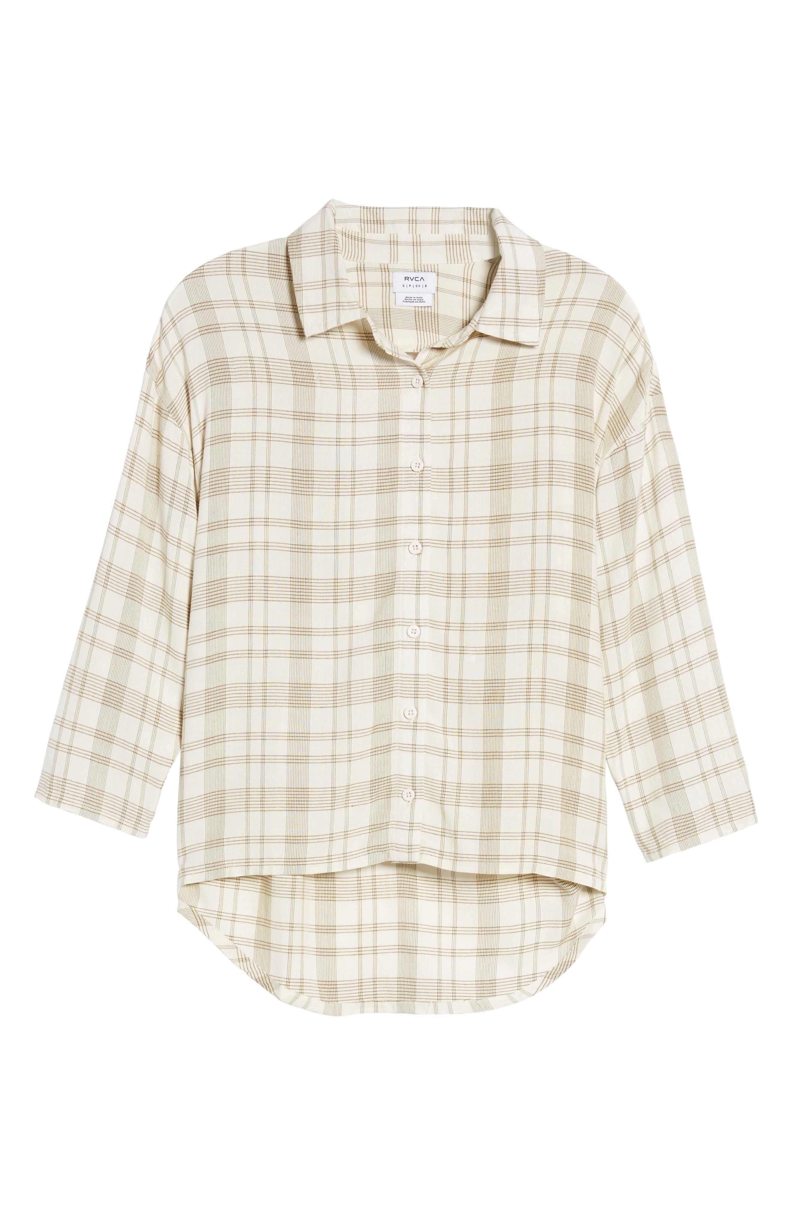 Drift Away Plaid Shirt,                             Alternate thumbnail 6, color,                             250