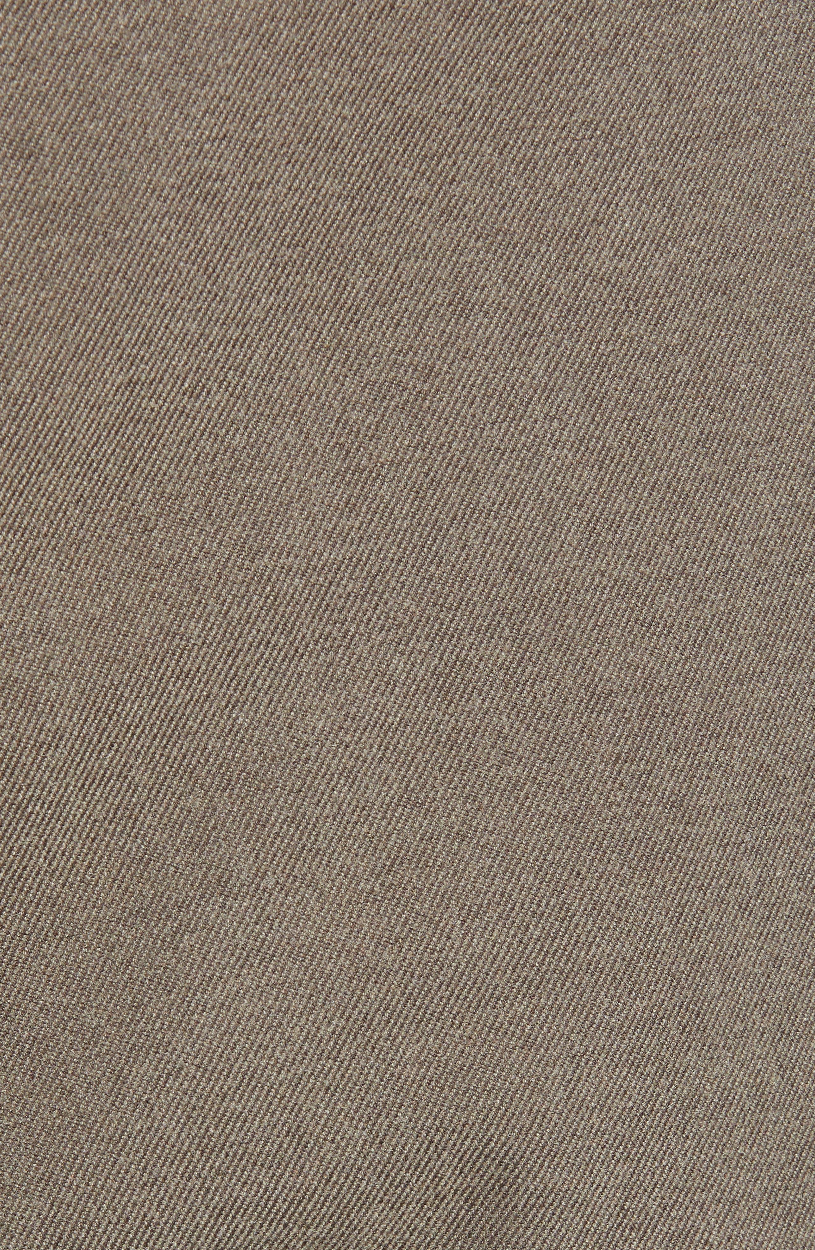 Semplin Slim Fit Brushed Trousers,                             Alternate thumbnail 5, color,                             NATURAL