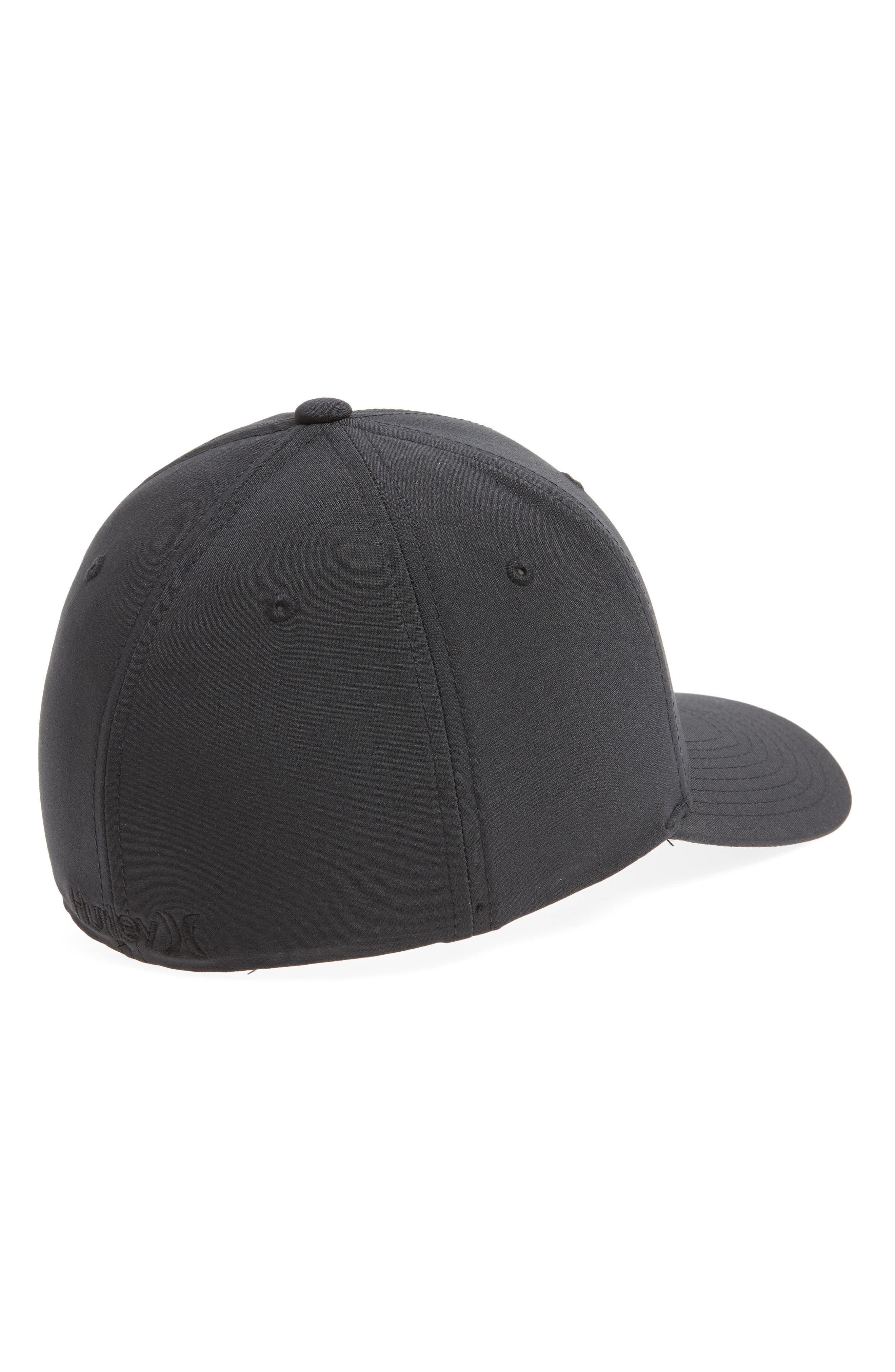 Dri-Fit Cutback Baseball Cap,                             Alternate thumbnail 2, color,                             BLACK