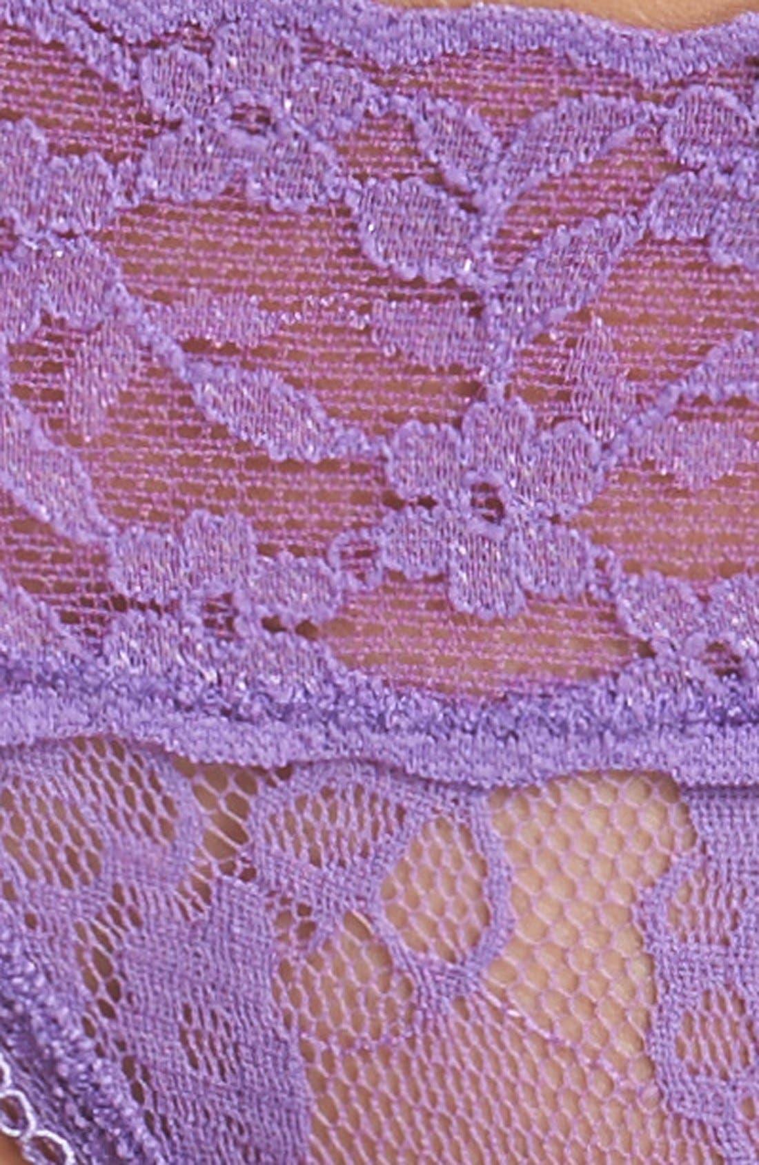 Lace Waist Thong,                             Alternate thumbnail 29, color,