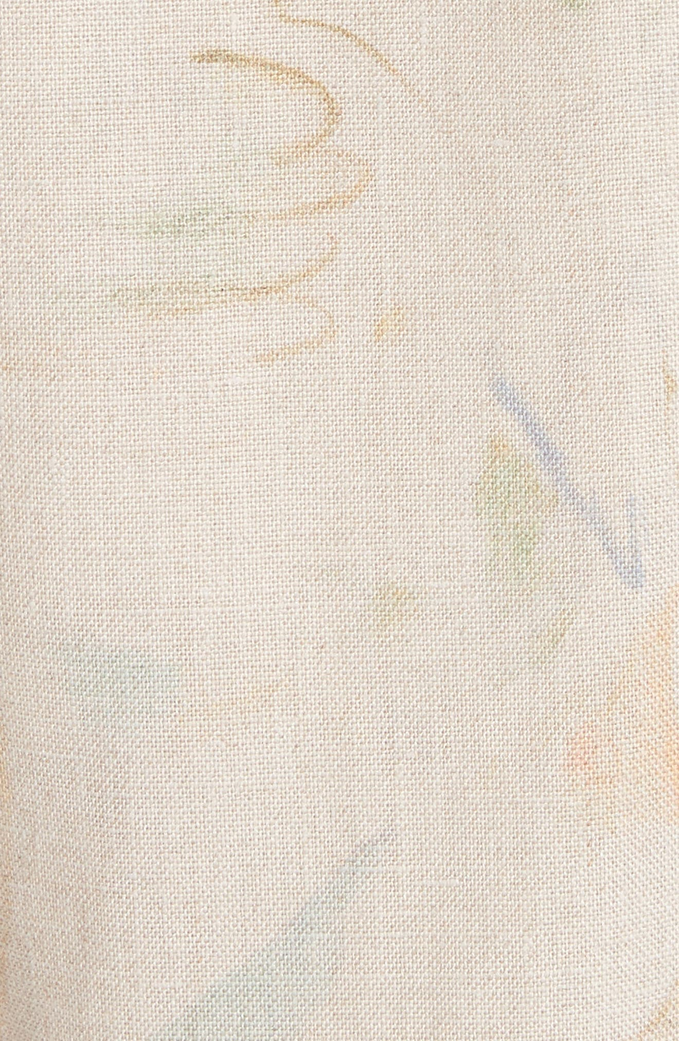 Laurita Linen Trench Coat,                             Alternate thumbnail 6, color,                             292