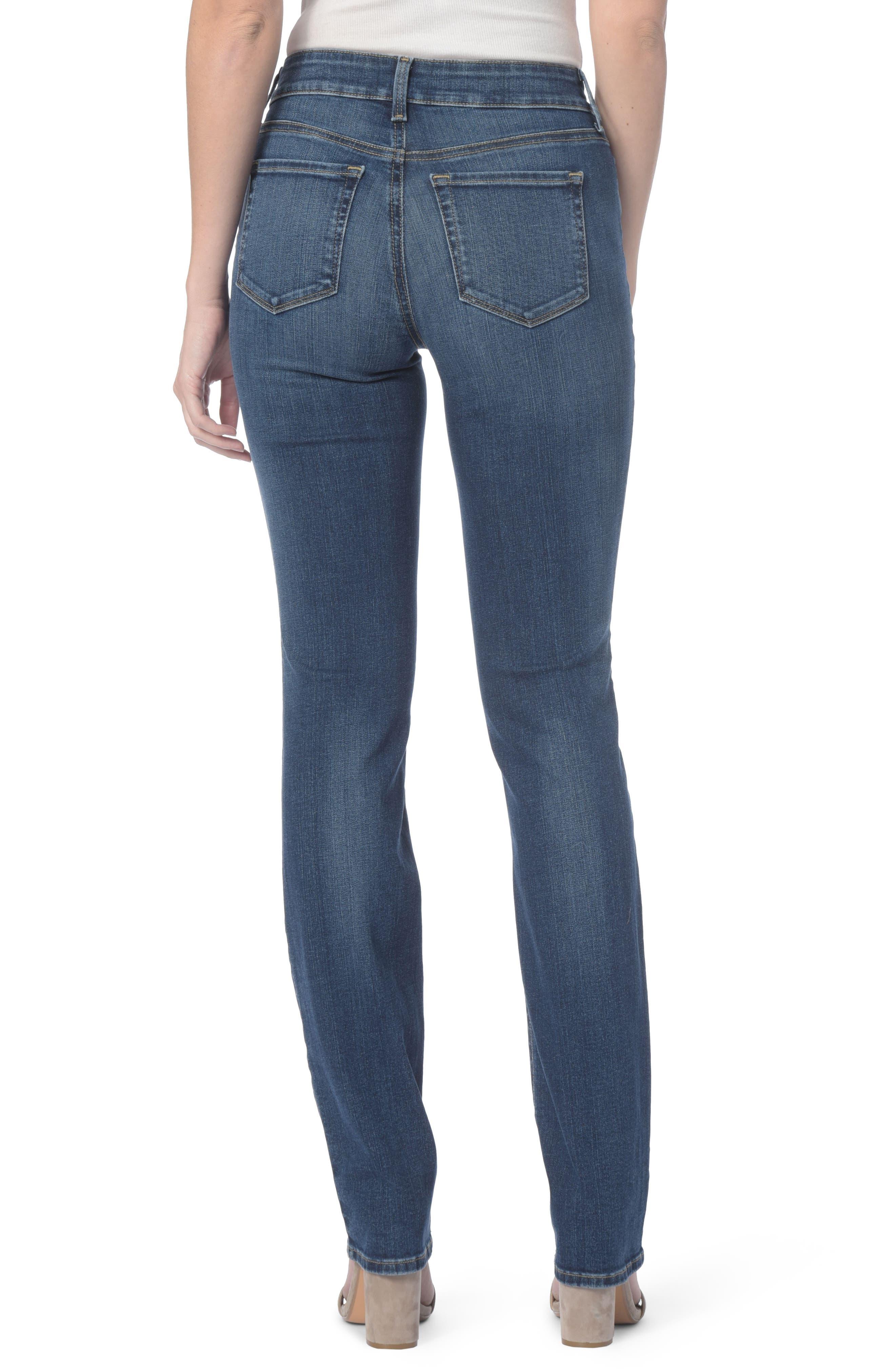 Marilyn Stretch Straight Leg Jeans,                             Alternate thumbnail 2, color,                             411
