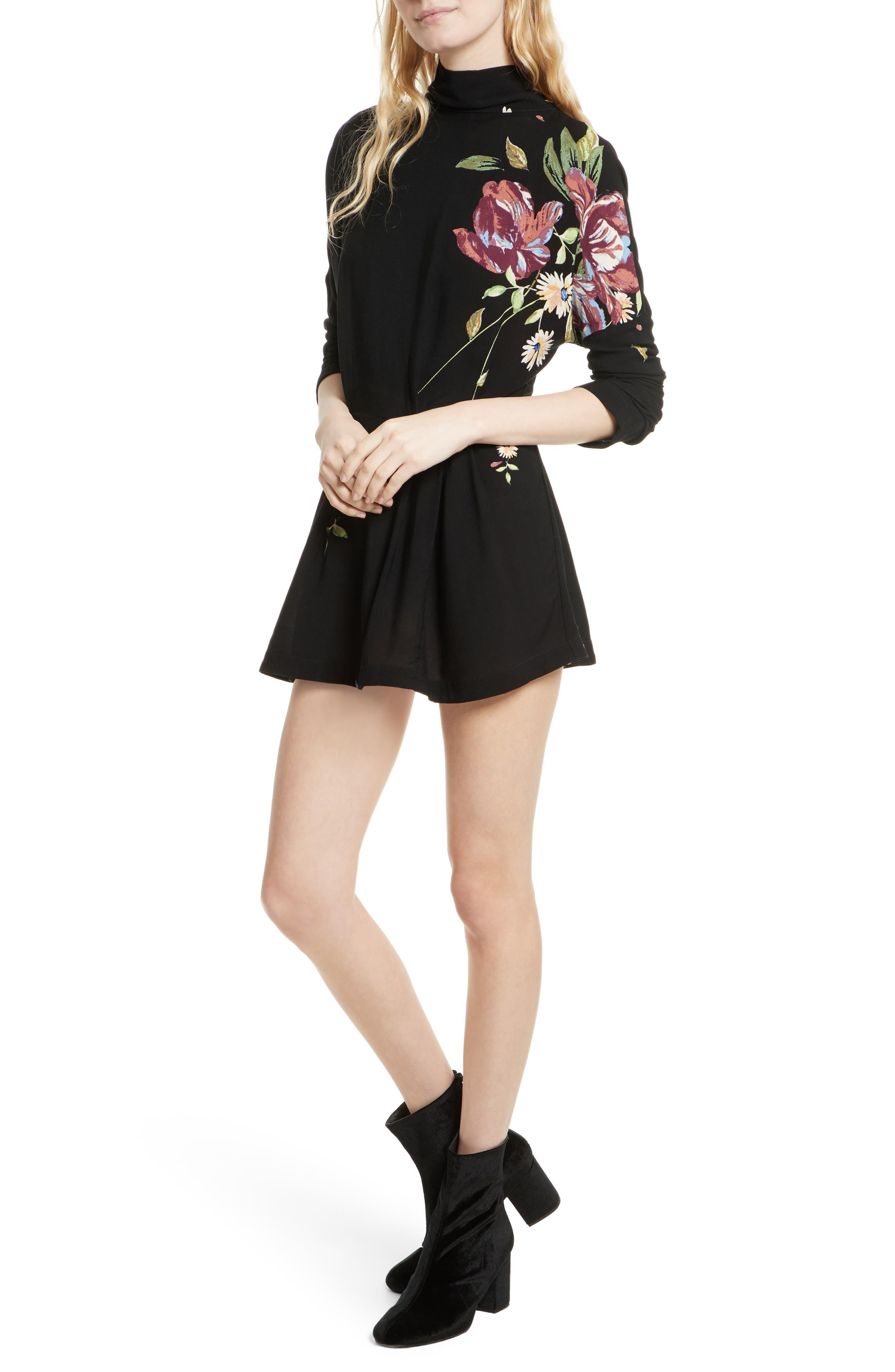 Gemma Minidress,                         Main,                         color, 001