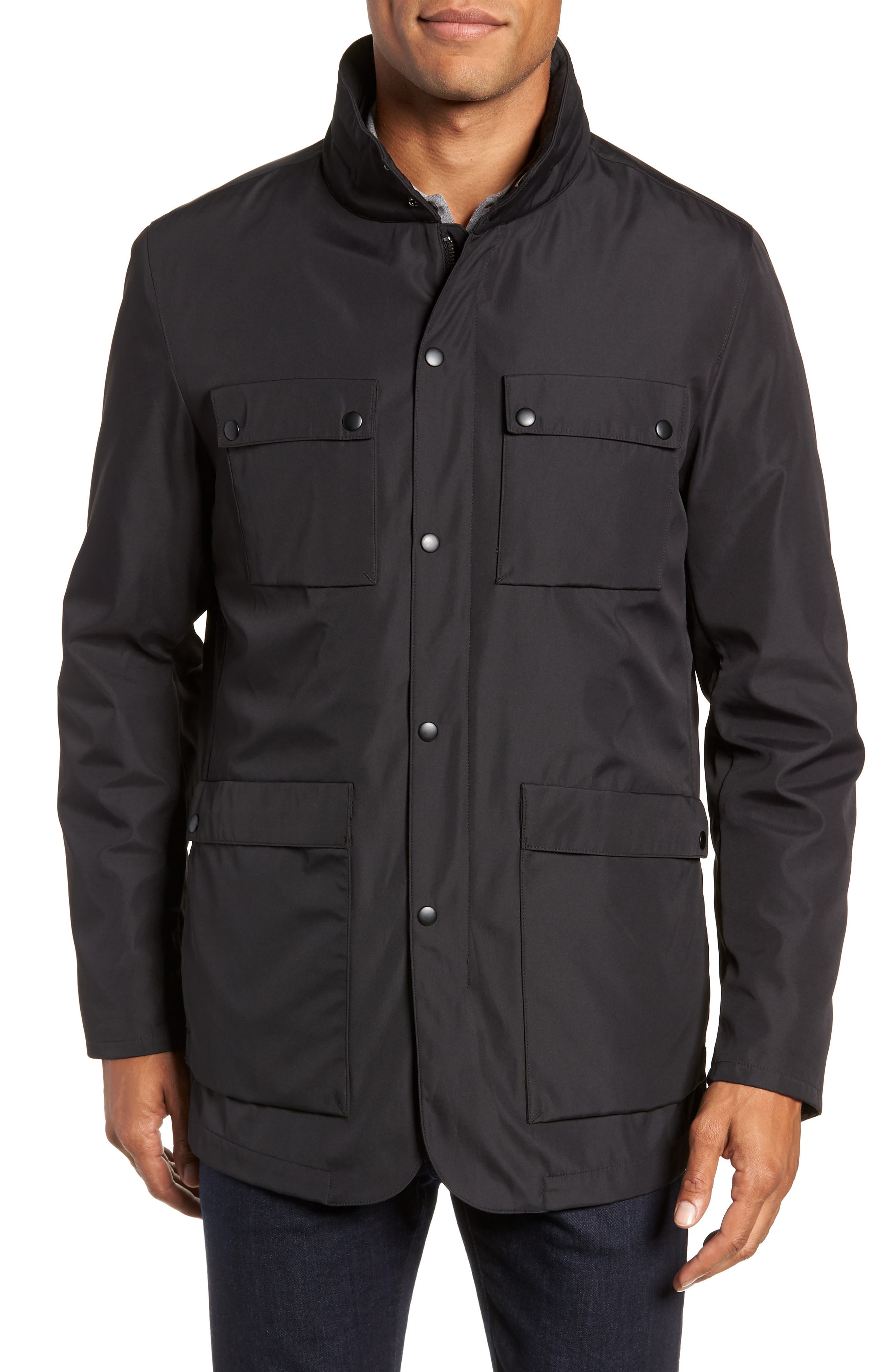 Oak 3-in-1 Jacket,                             Alternate thumbnail 6, color,                             BLACK