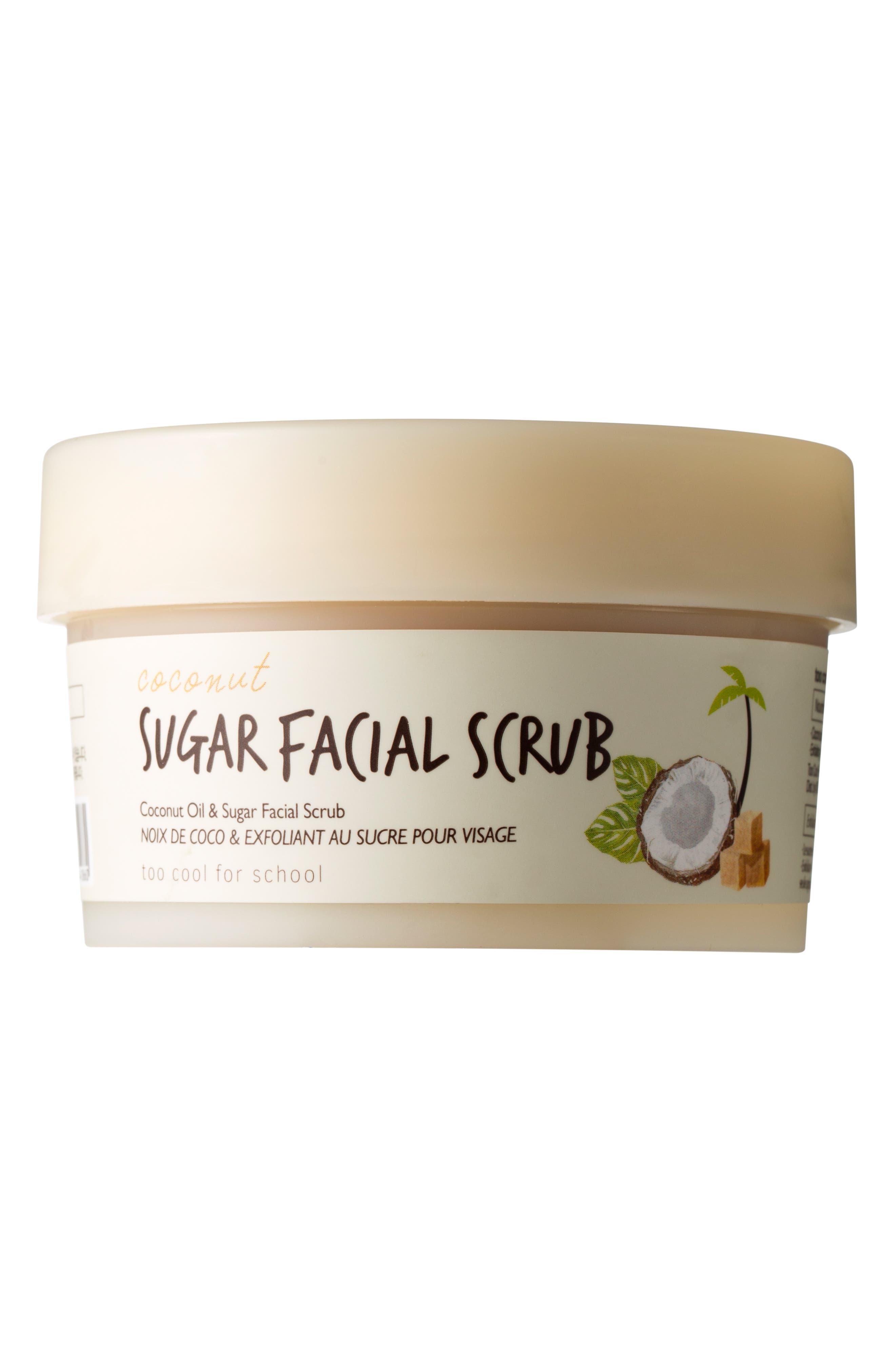 Coconut Sugar Facial Scrub,                         Main,                         color, NO COLOR