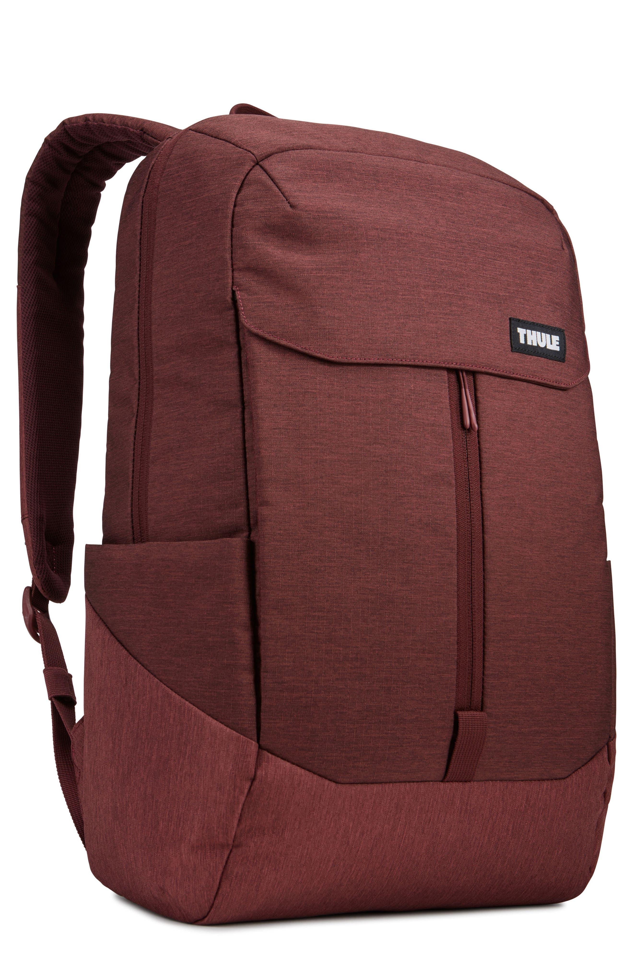 Lithos Backpack,                         Main,                         color, DARK BURGUNDY