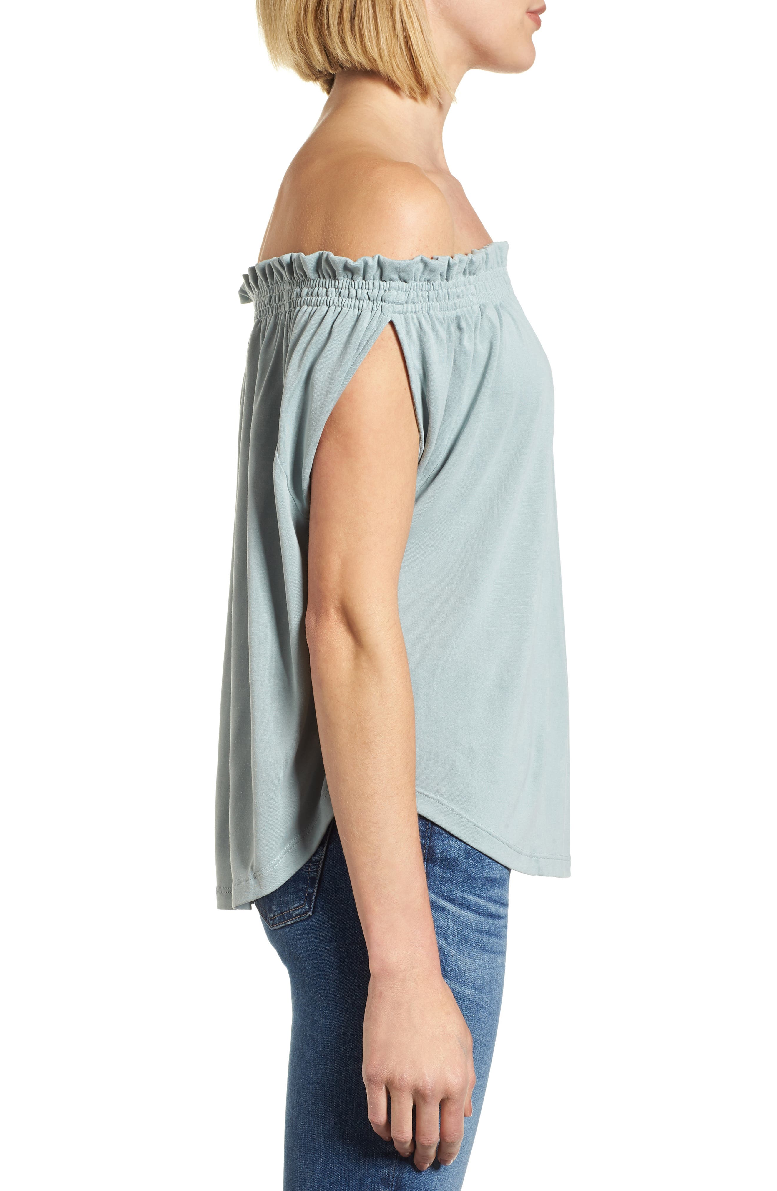 Off the Shoulder Top,                             Alternate thumbnail 3, color,                             310