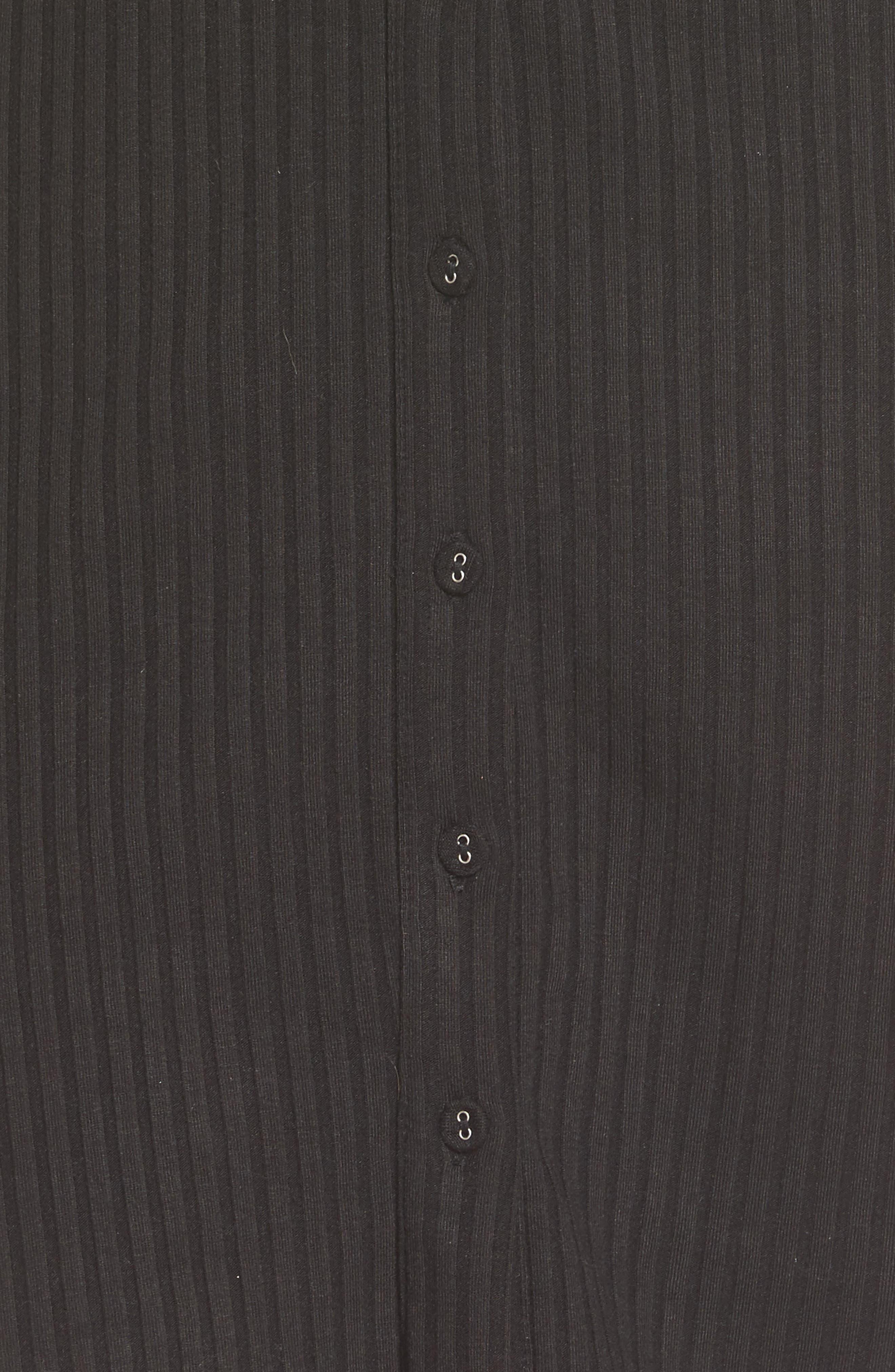 Prentiss Tie Dress,                             Alternate thumbnail 5, color,                             001