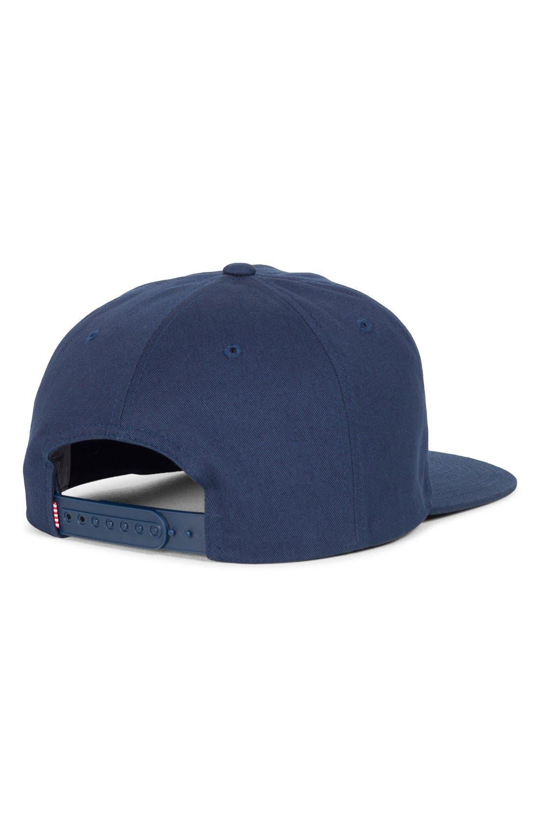 'Mosby' Snapback Baseball Cap,                             Alternate thumbnail 5, color,