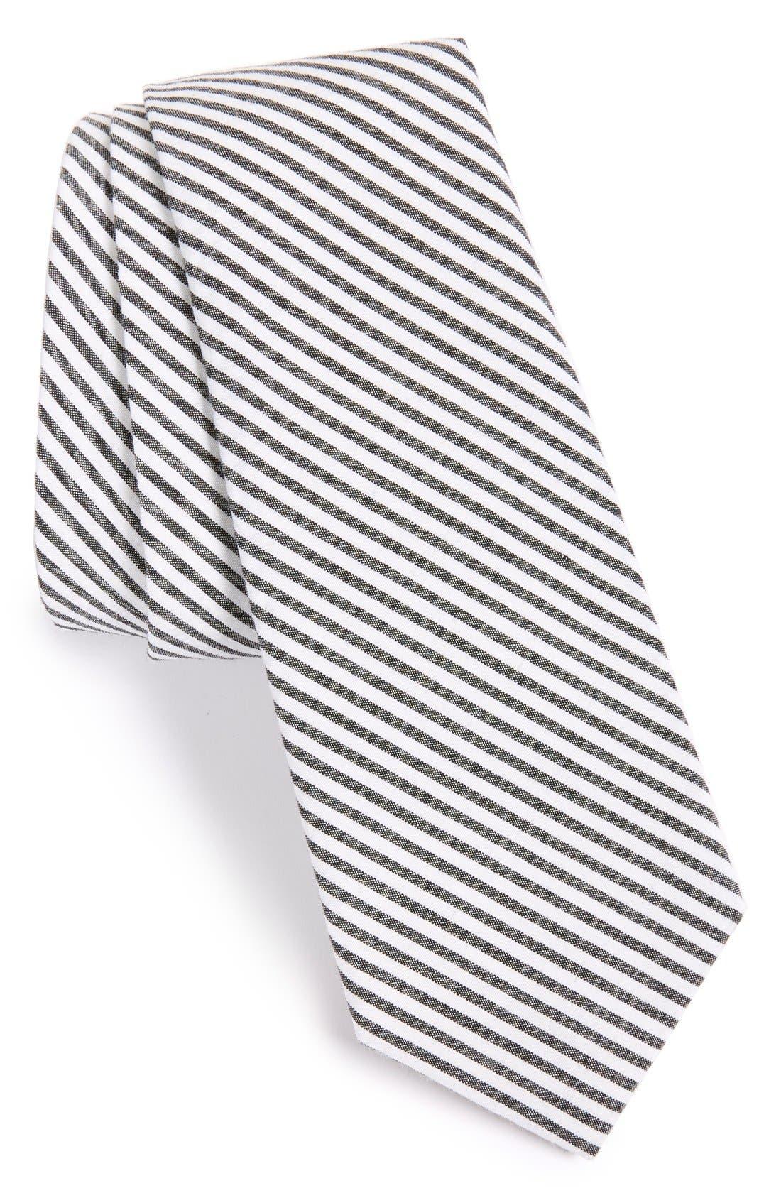 Seersucker Tie,                             Main thumbnail 1, color,                             006