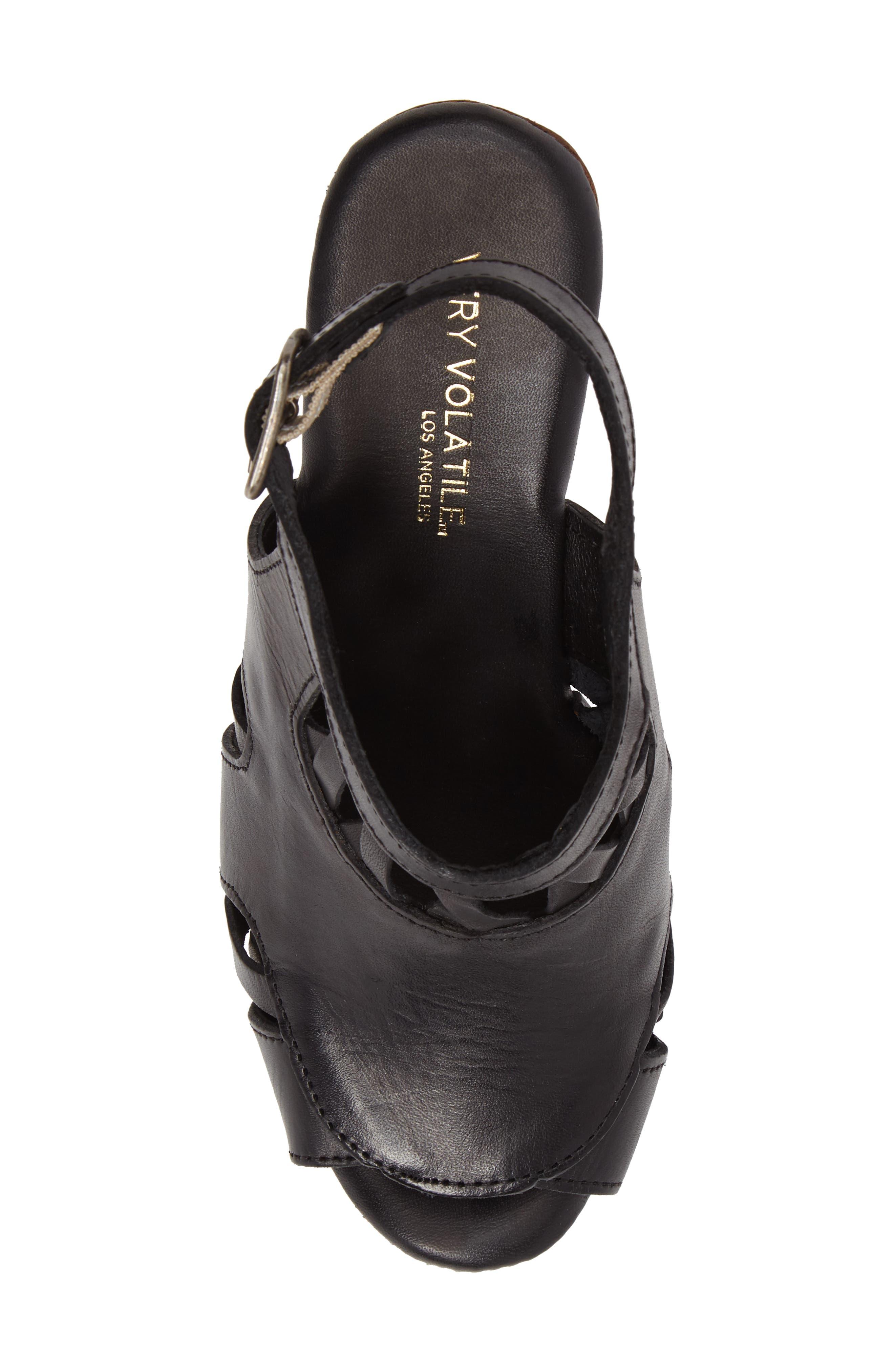 Sloane Platform Wedge Sandal,                             Alternate thumbnail 9, color,