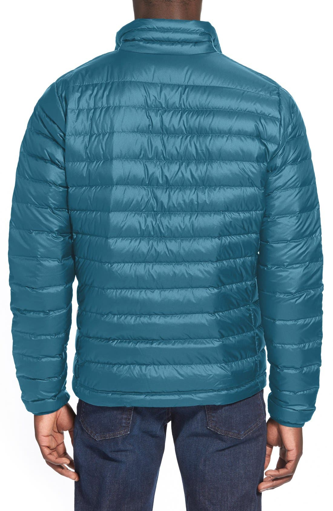 Water Repellent Down Jacket,                             Alternate thumbnail 54, color,