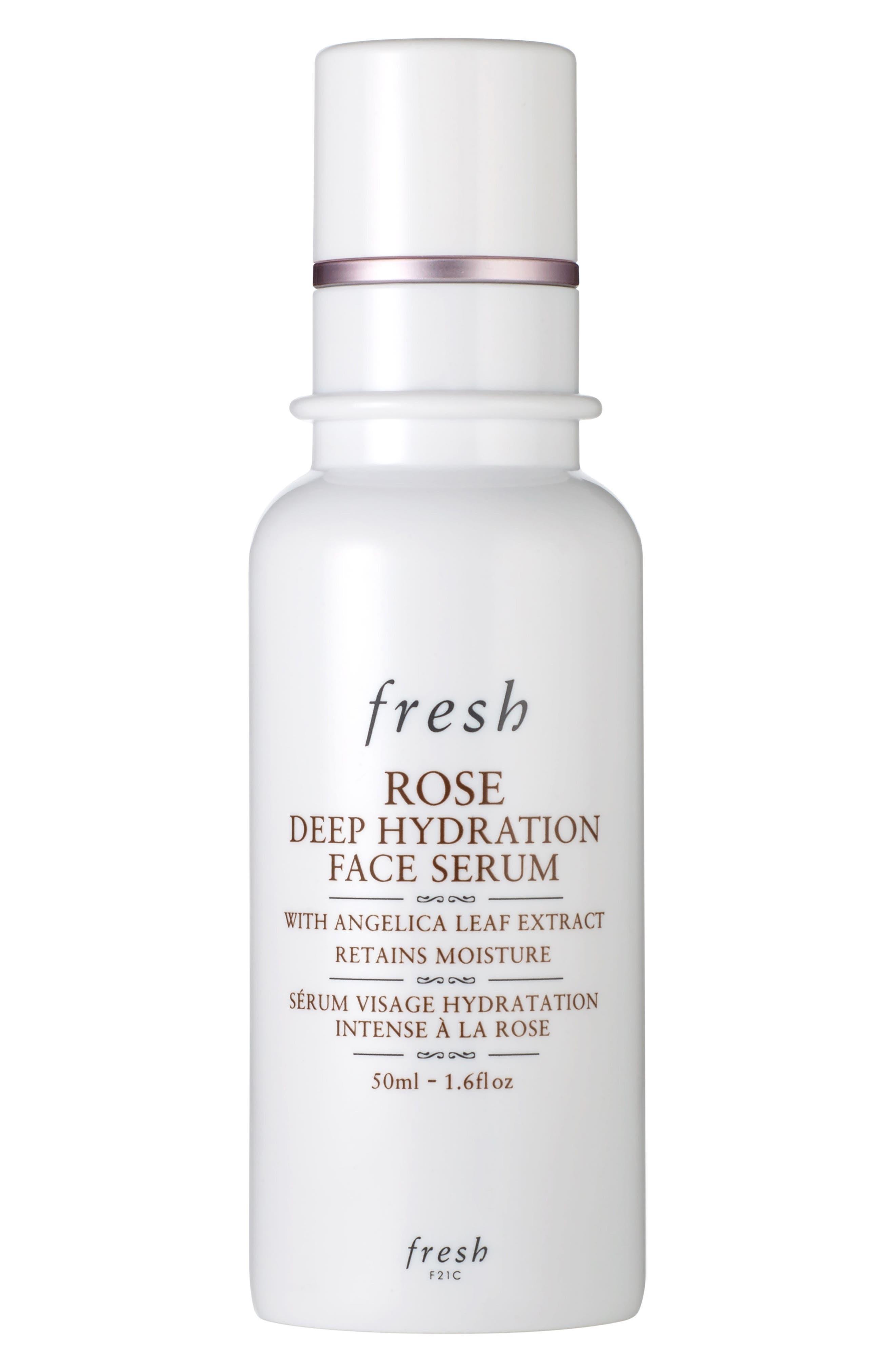 Rose Deep Hydration Face Serum, Main, color, NO COLOR
