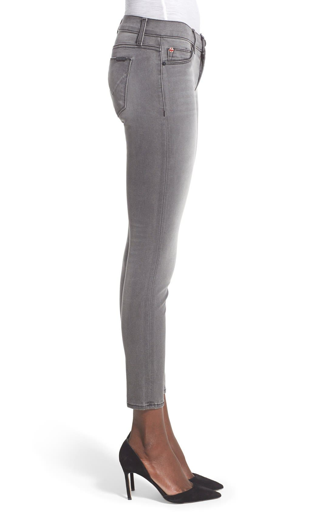 'Krista' Ankle Super Skinny Jeans,                             Alternate thumbnail 3, color,                             020
