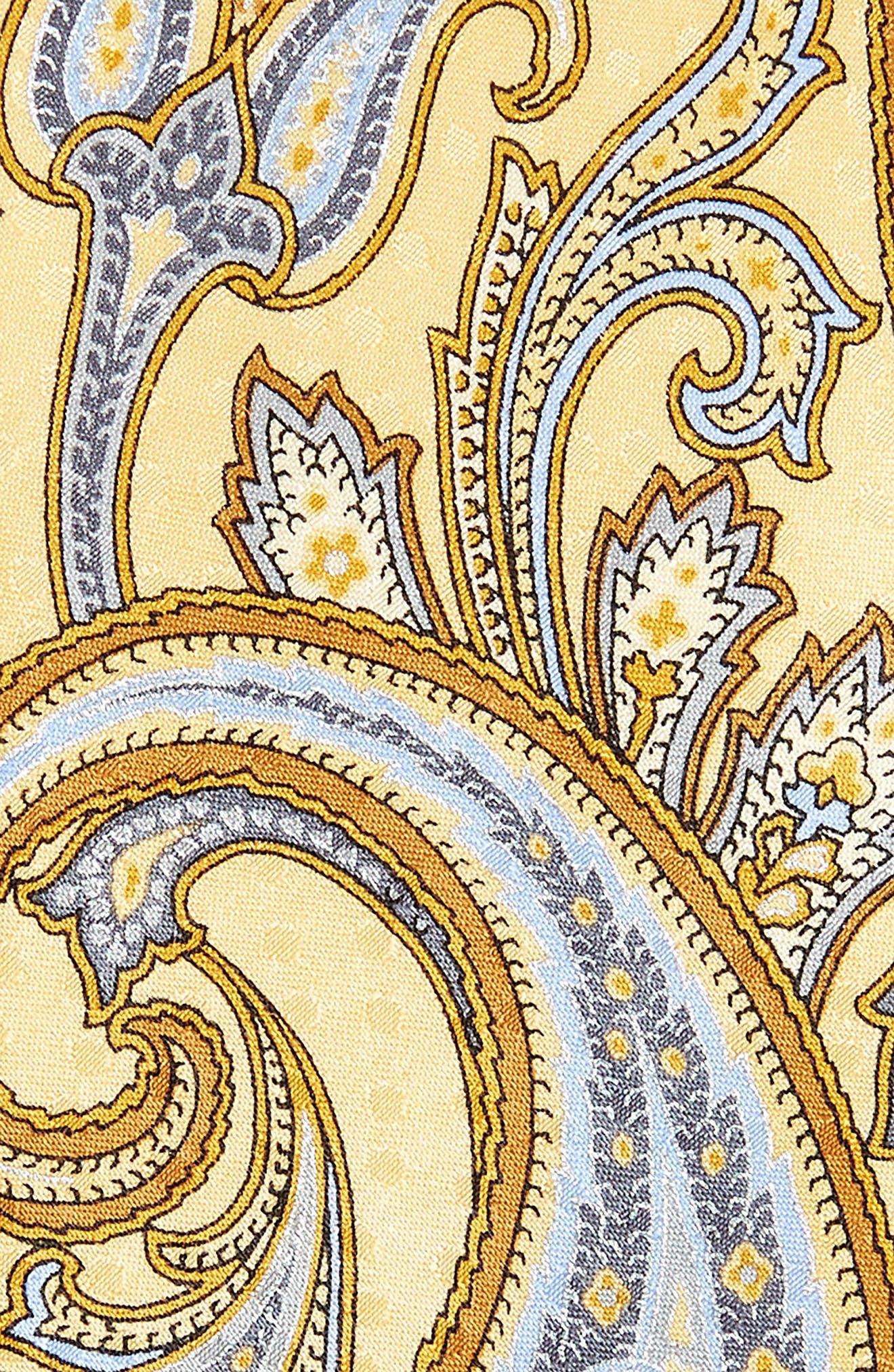 Paisley Silk Tie,                             Alternate thumbnail 4, color,