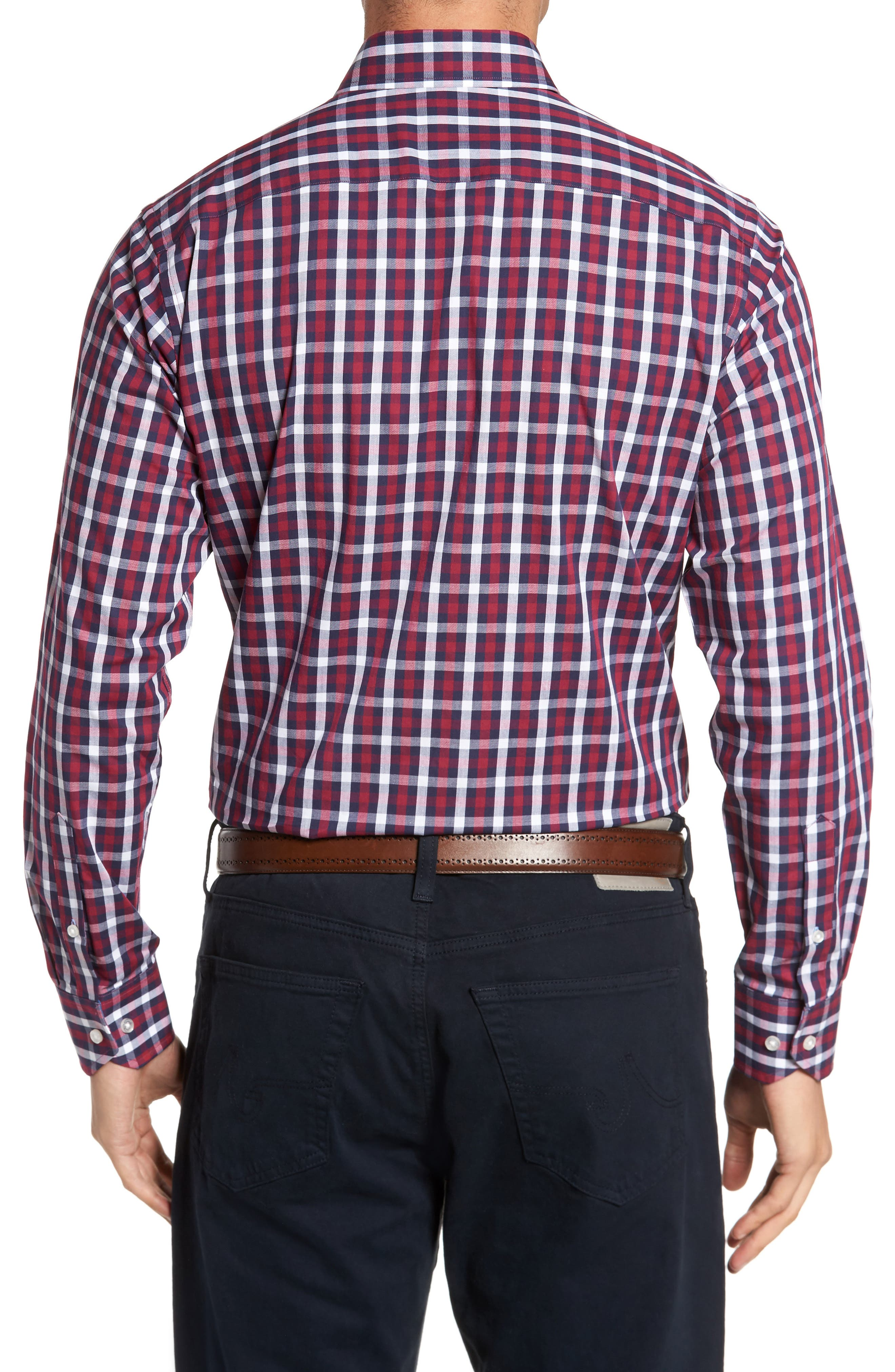 Covington Check Sport Shirt,                             Alternate thumbnail 2, color,                             617