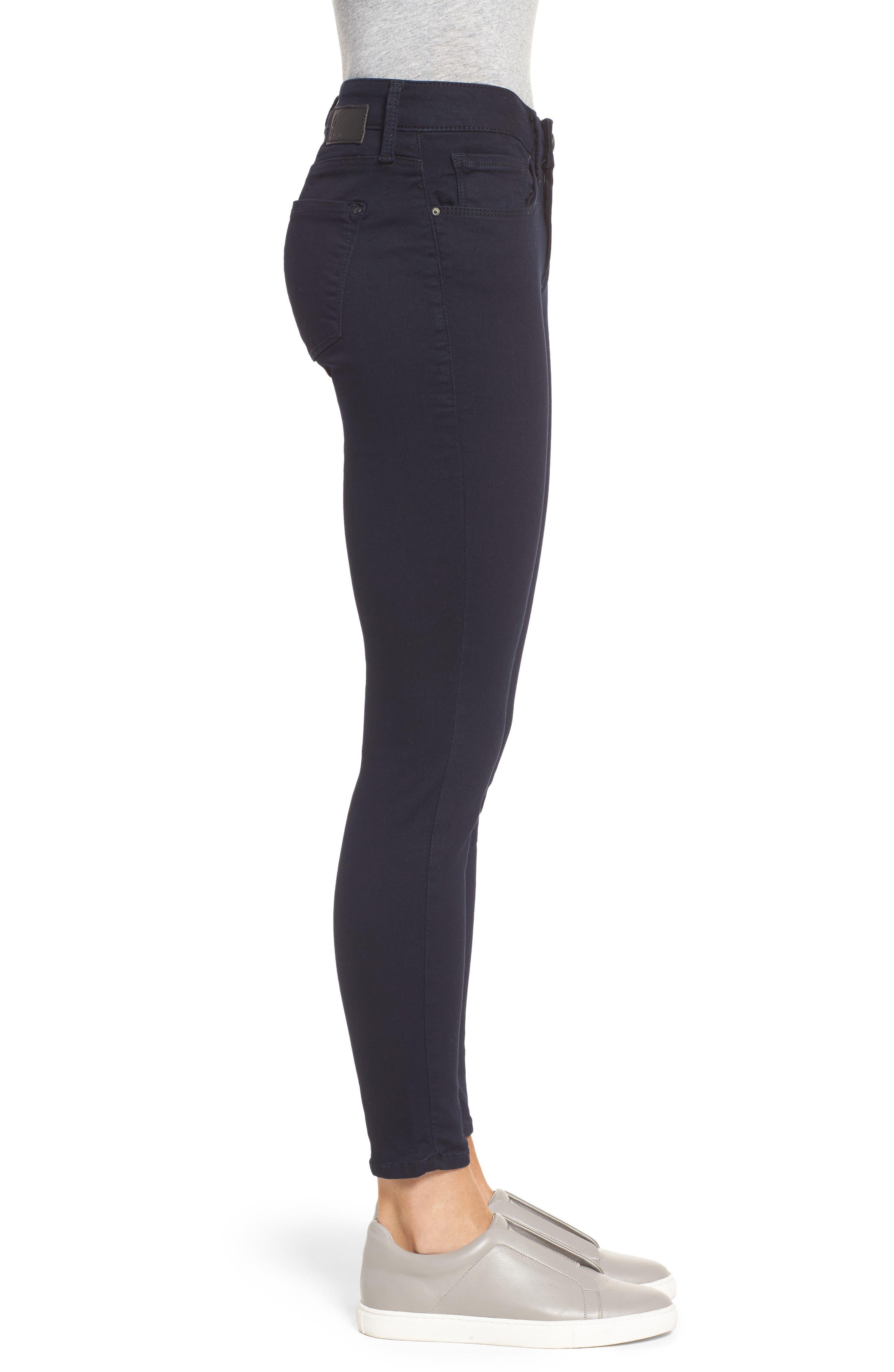 'Alexa' Midrise Skinny Jeans,                             Alternate thumbnail 3, color,                             401