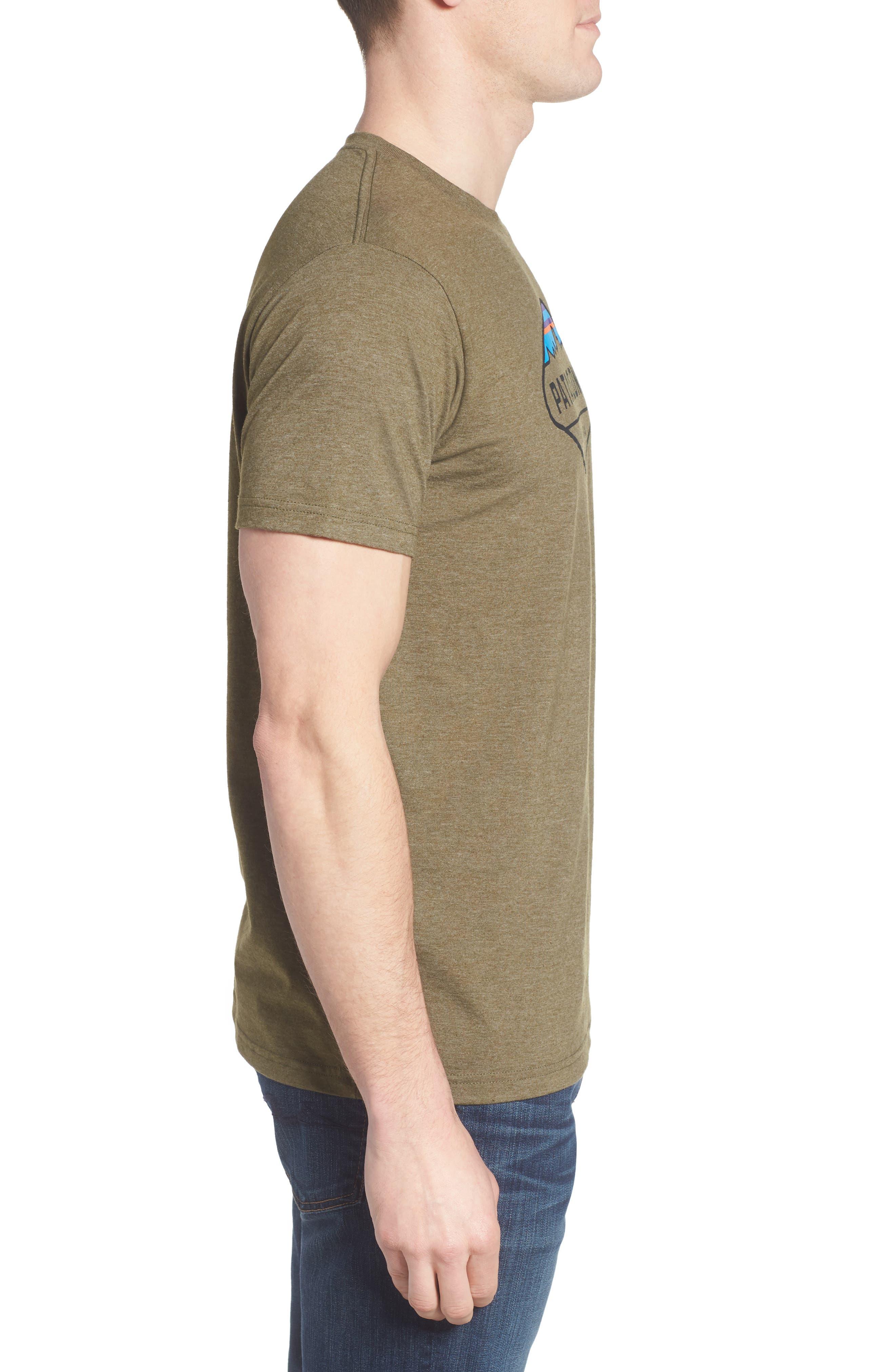 'Fitz Roy Crest' Slim Fit Organic Cotton Blend T-Shirt,                             Alternate thumbnail 20, color,