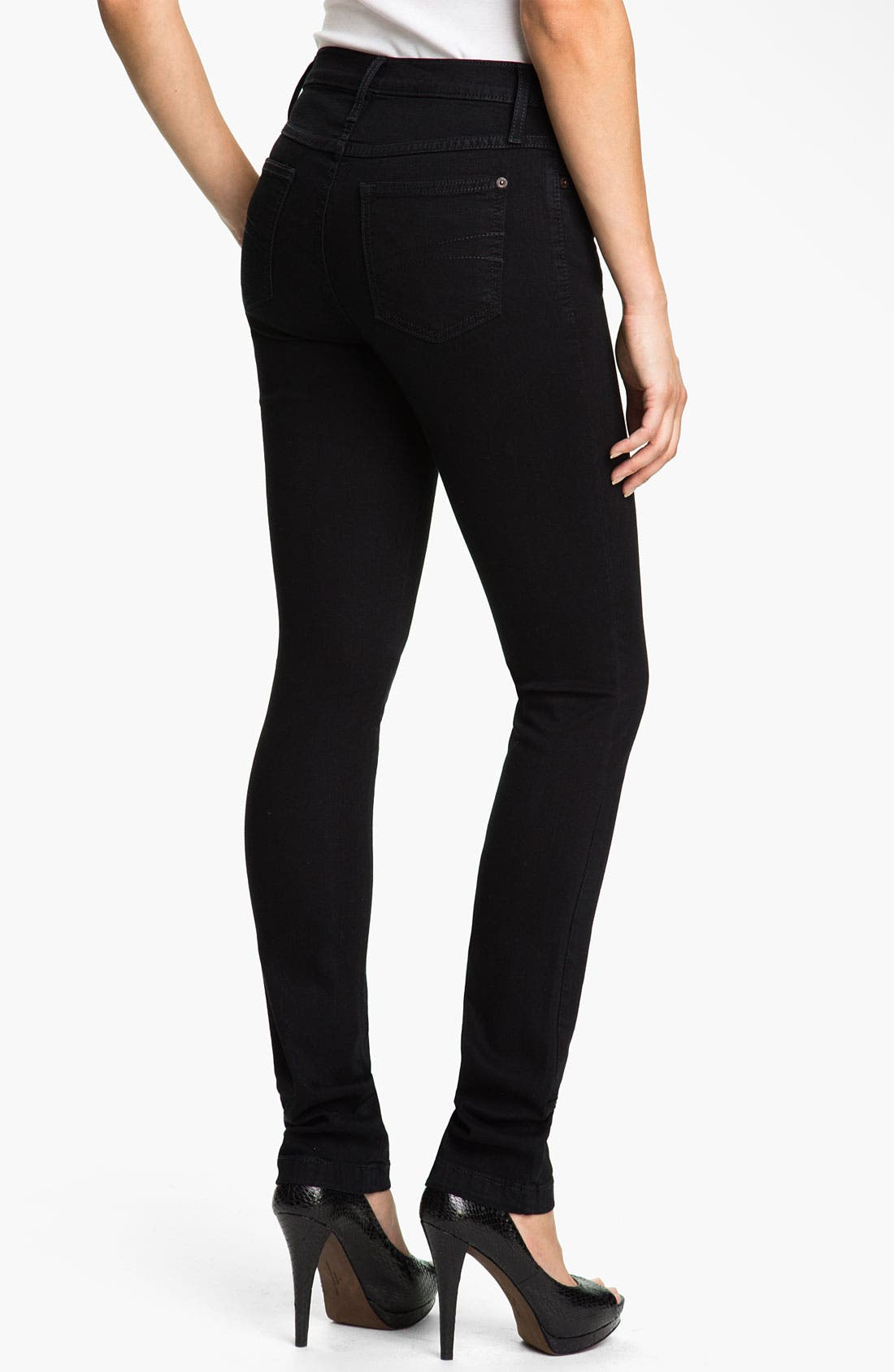 Skinny Jeans,                             Alternate thumbnail 3, color,                             001