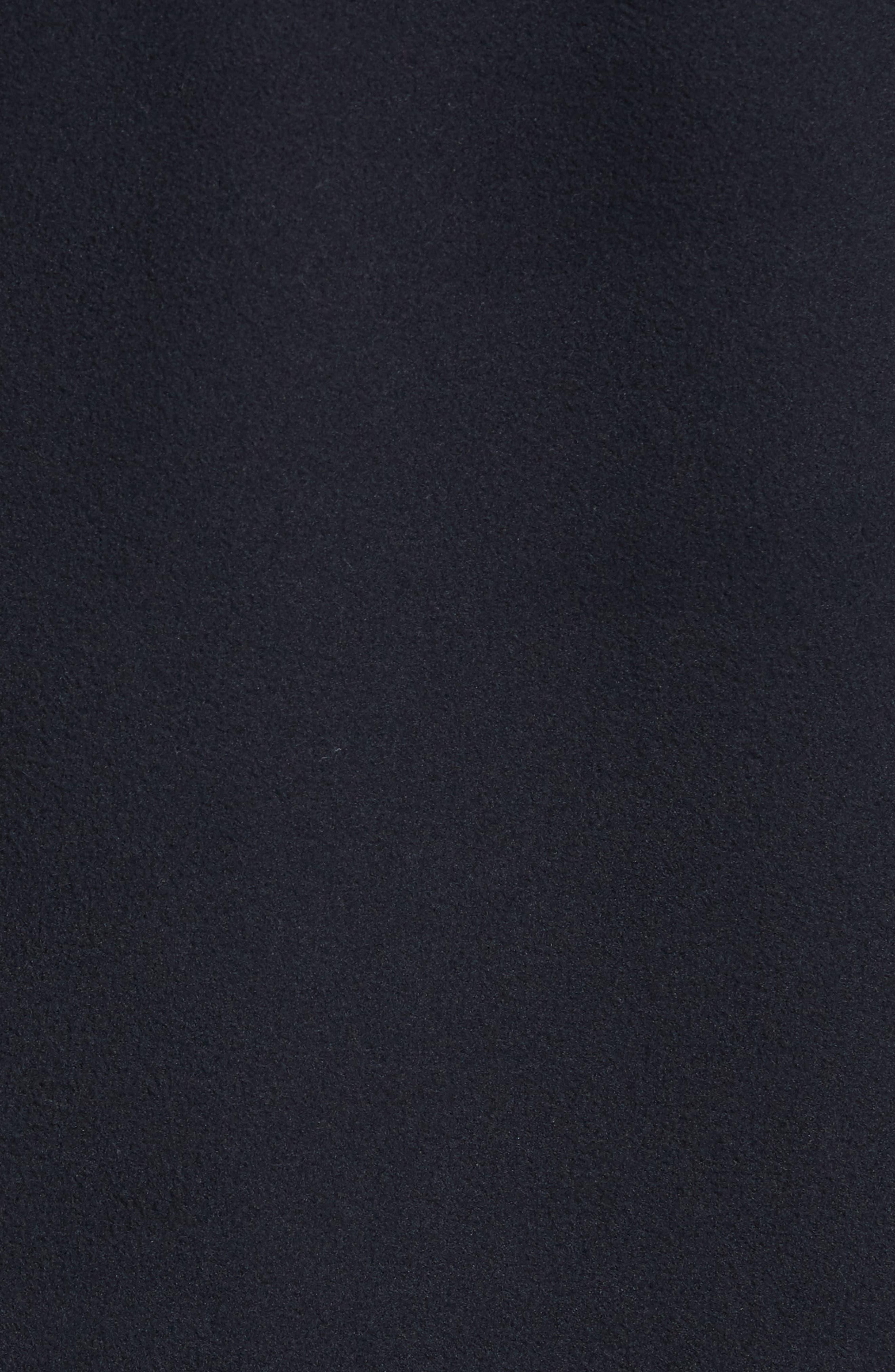 Quarter Zip Fleece Pullover,                             Alternate thumbnail 5, color,                             001