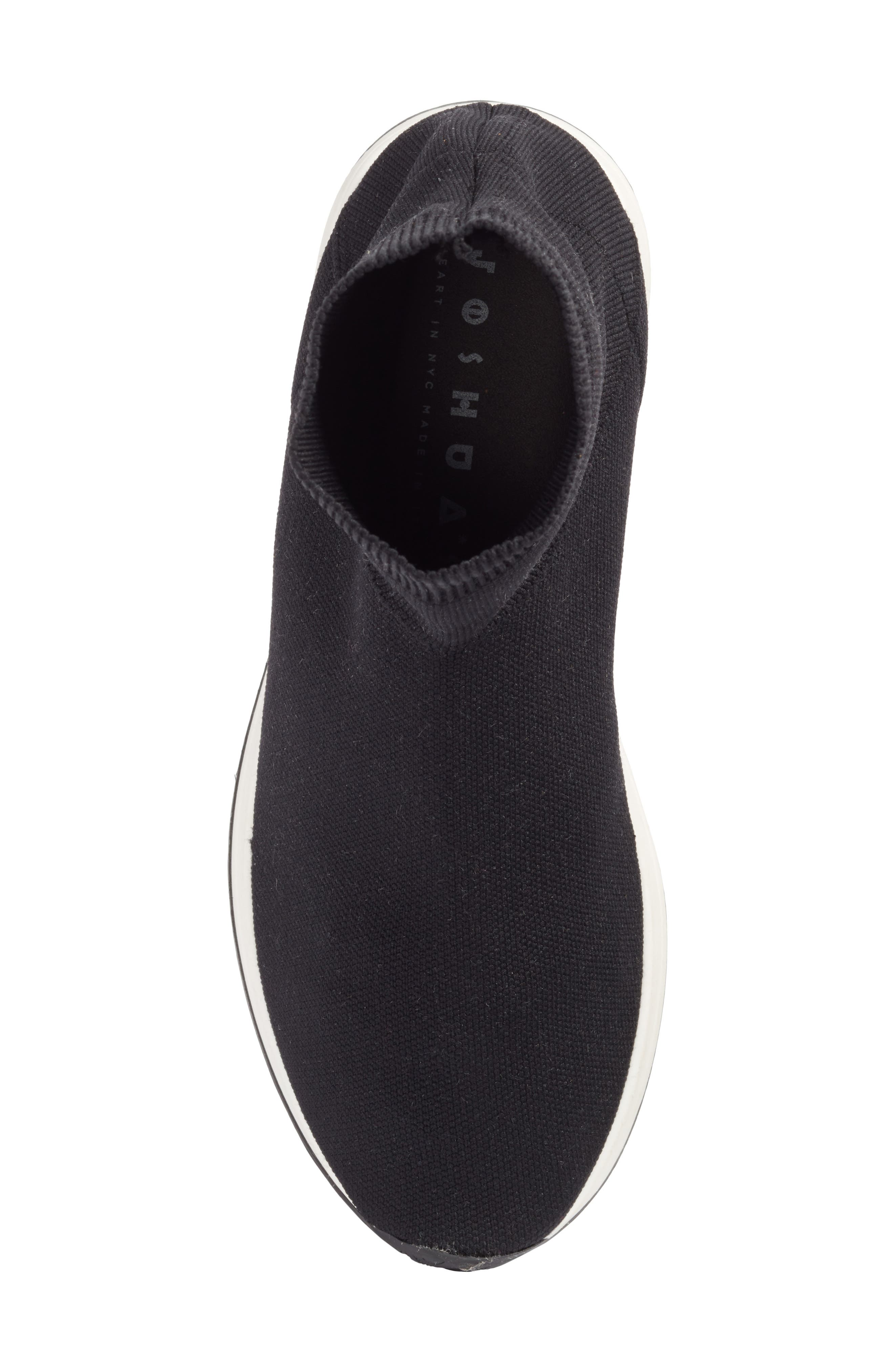 Fly To High Top Sock Sneaker,                             Alternate thumbnail 5, color,                             002