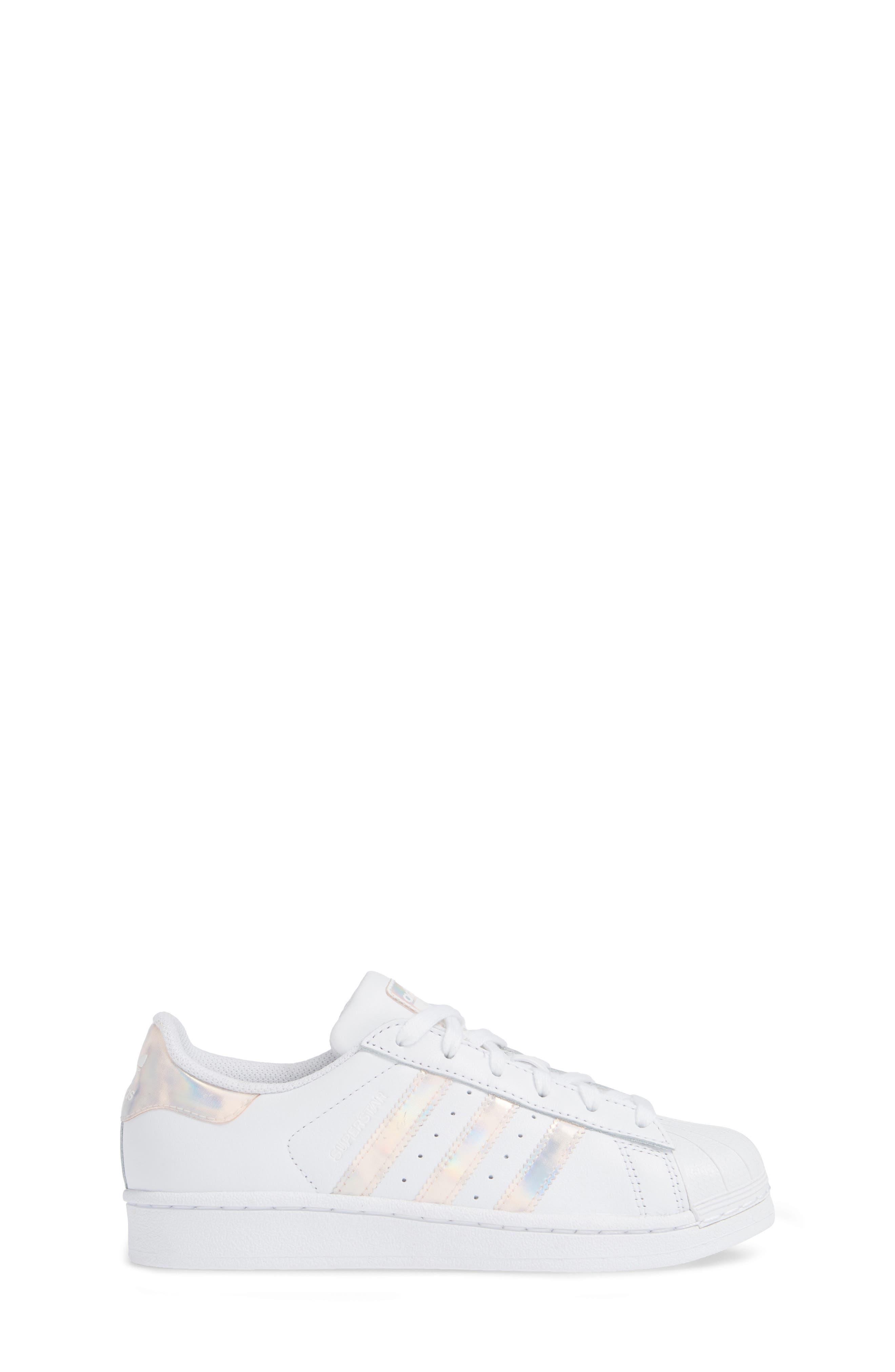 'Superstar II' Sneaker,                             Alternate thumbnail 3, color,                             FTWR WHITE