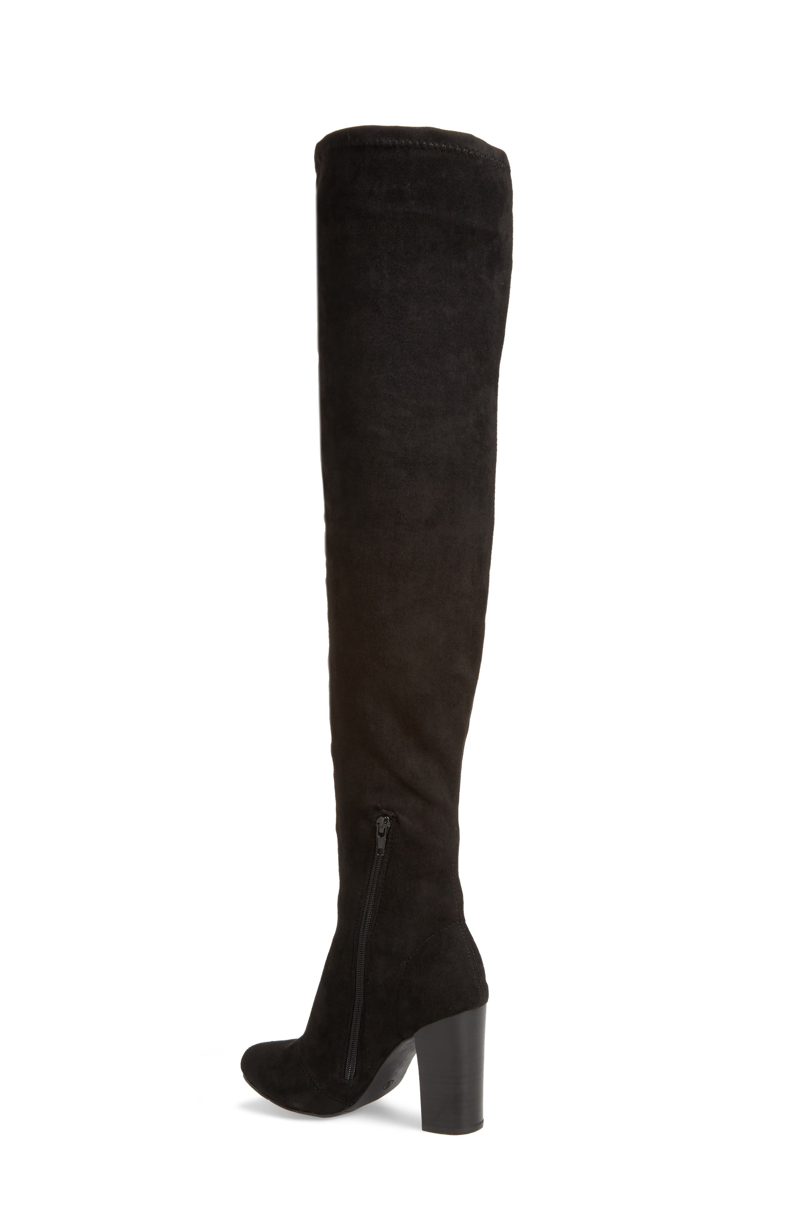 Christa Thigh High Boot,                             Alternate thumbnail 2, color,                             001