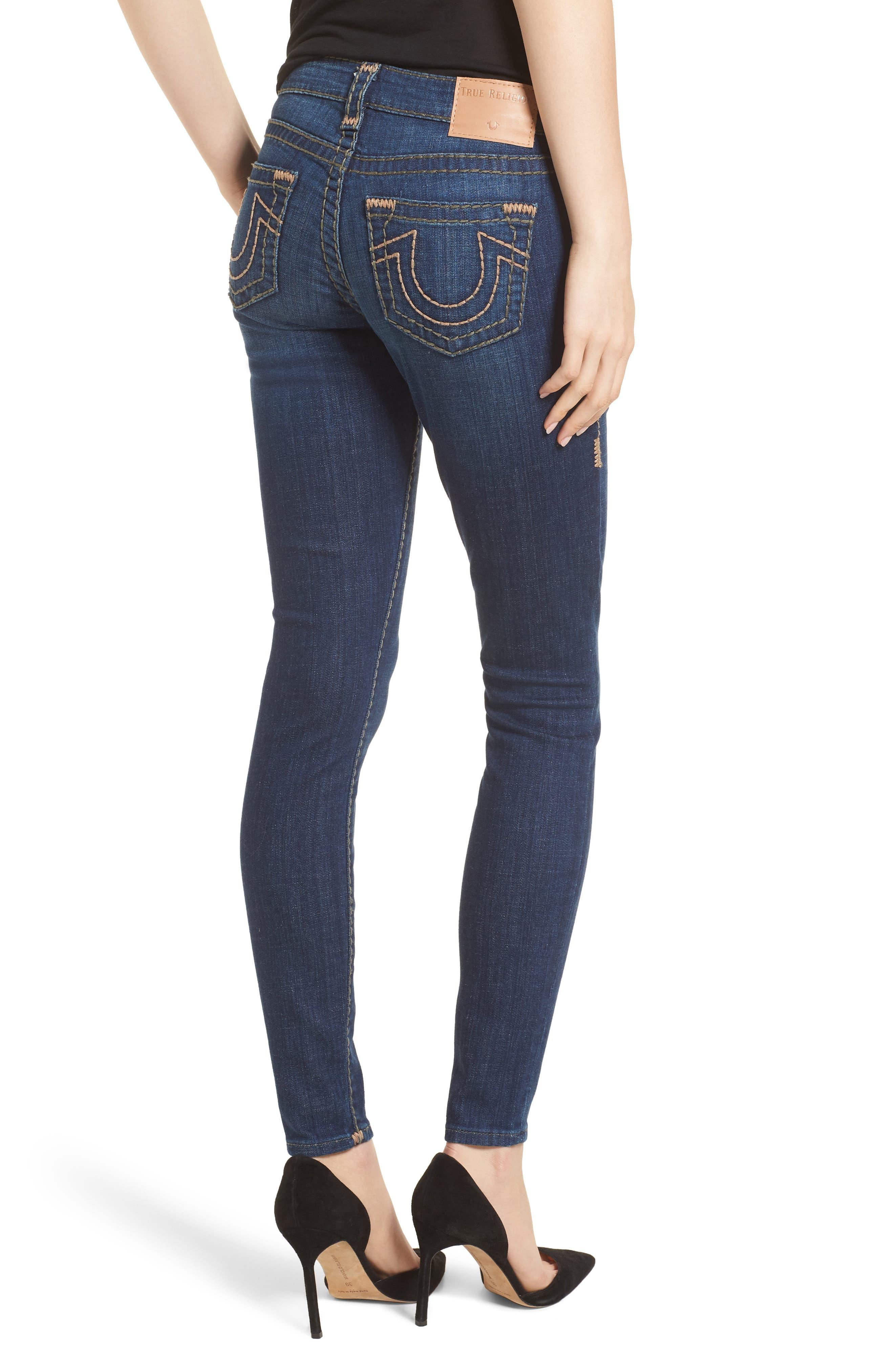 Halle Skinny Jeans,                             Alternate thumbnail 2, color,                             402