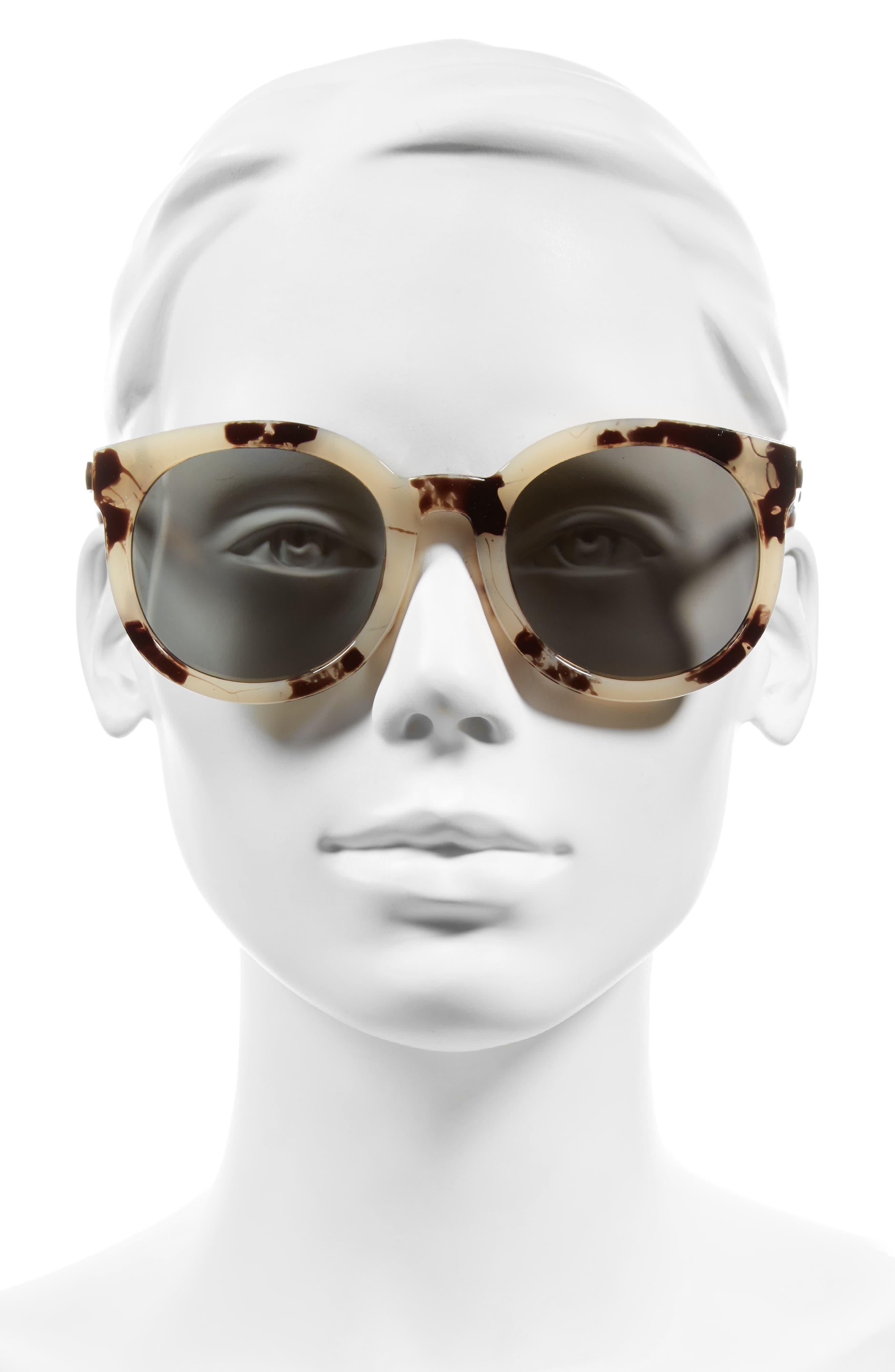 A.J. MORGAN,                             Cat D 53mm Sunglasses,                             Alternate thumbnail 2, color,                             020