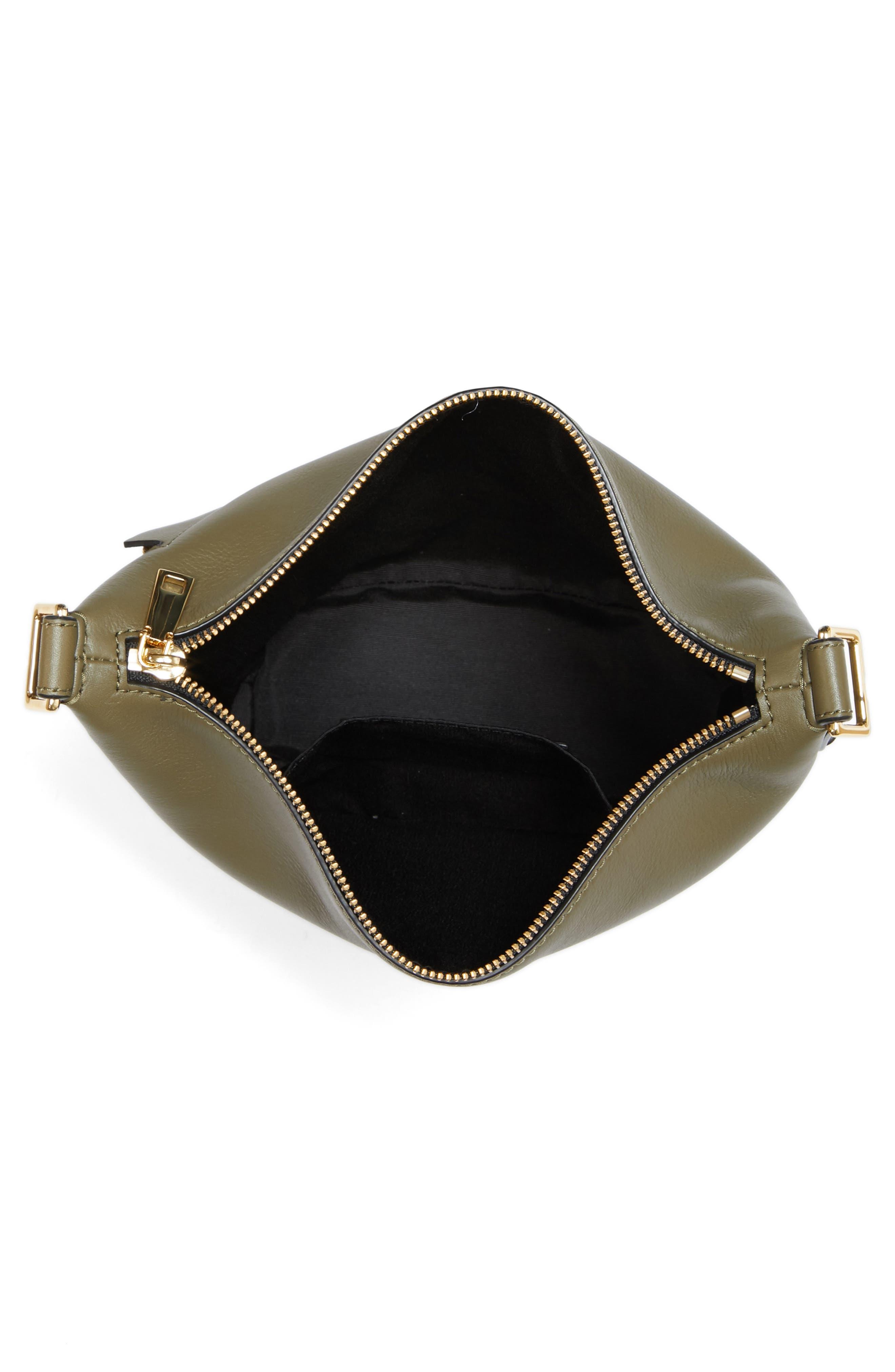The Mini Sling Convertible Leather Hobo,                             Alternate thumbnail 25, color,