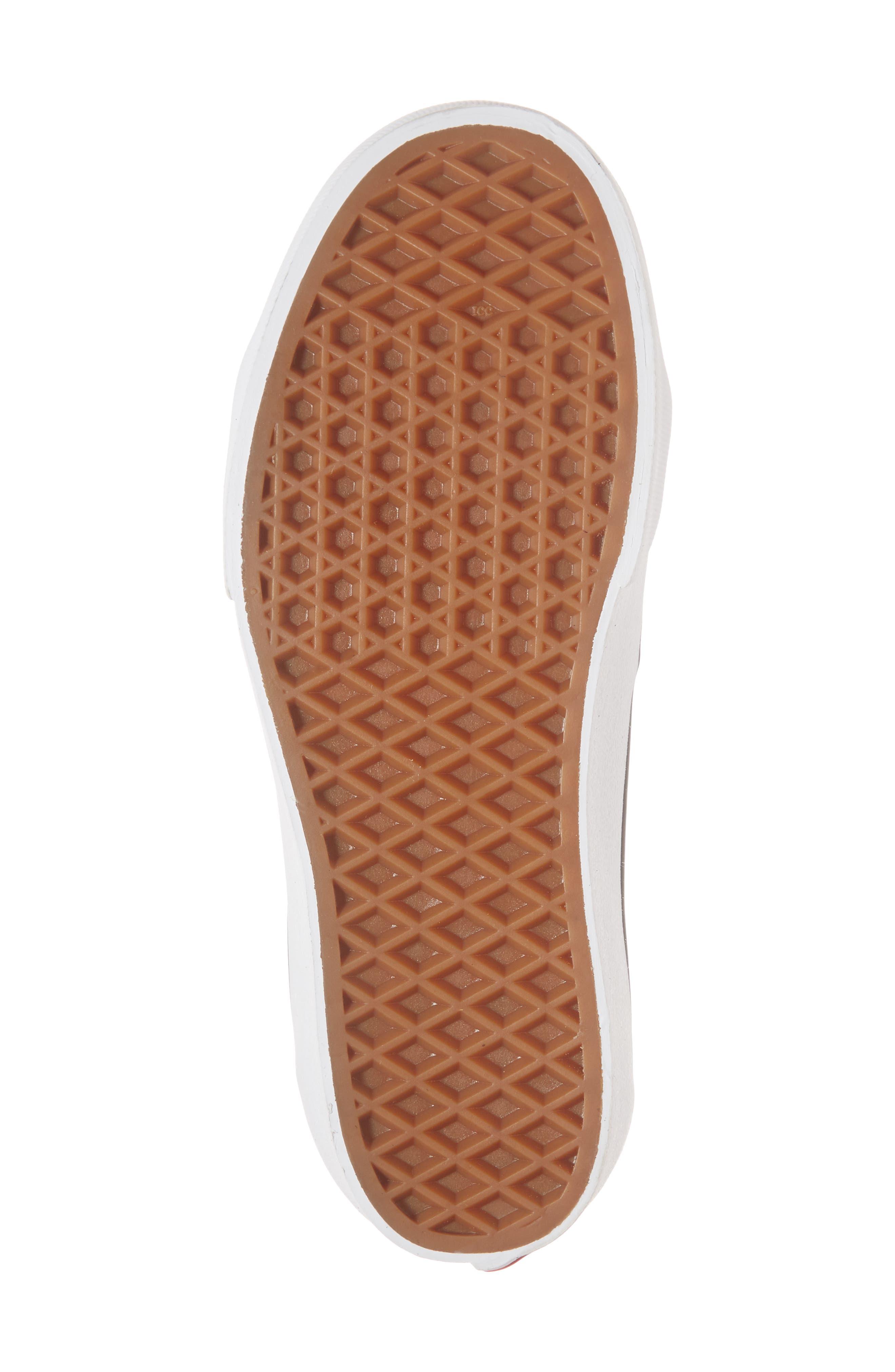 UA Sk8-Hi Platform Checkerboard Sneaker,                             Alternate thumbnail 6, color,                             CHECKER BOARD/ TRUE WHITE