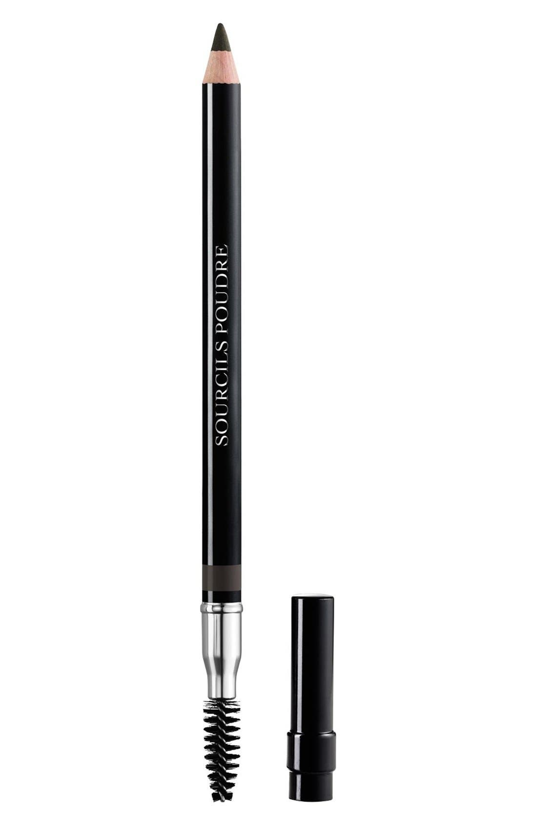Sourcils Poudre Powder Eyebrow Pencil,                             Main thumbnail 1, color,                             093 BLACK