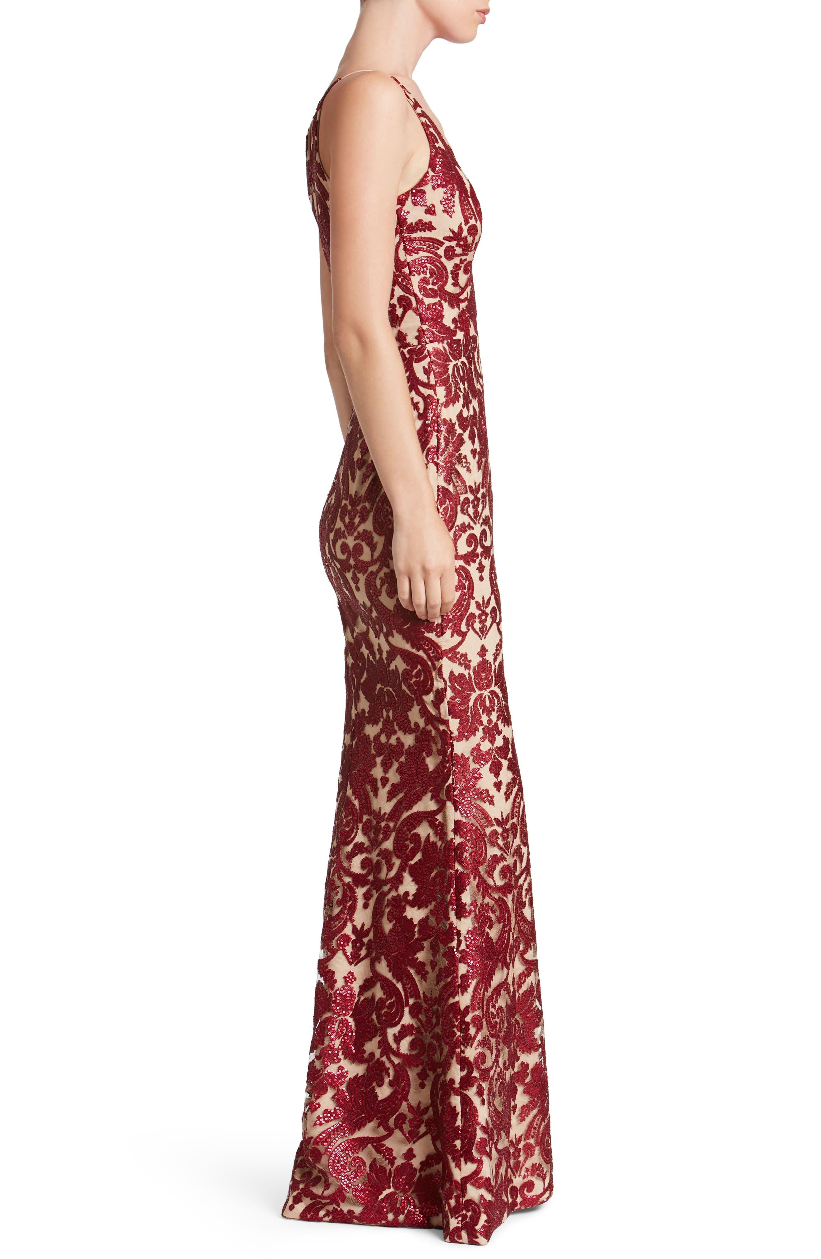 Karen Mermaid Gown,                             Alternate thumbnail 21, color,