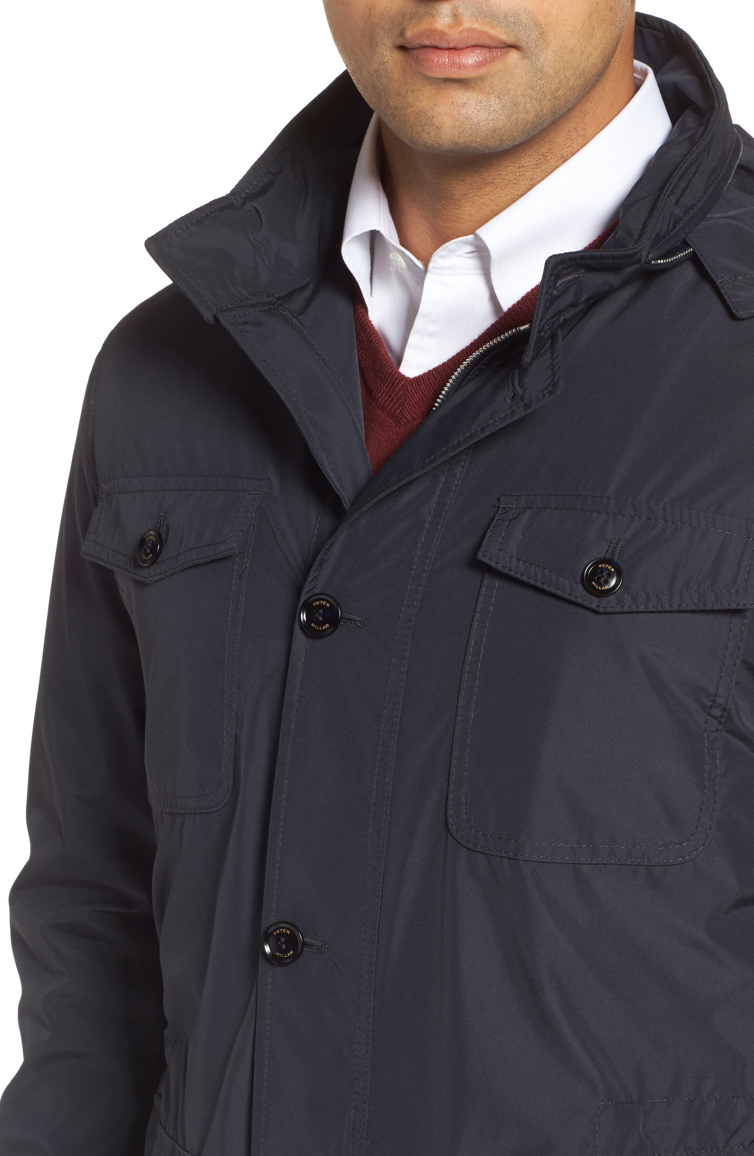 Peter Millar All Weather Discovery Jacket,                             Alternate thumbnail 8, color,