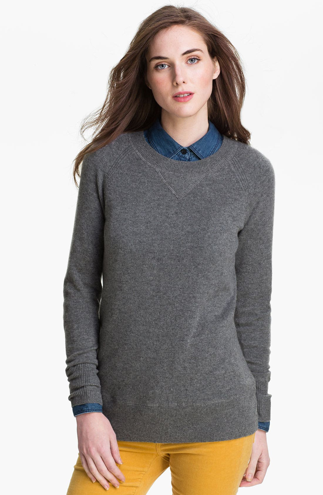 Cashmere Sweater,                             Main thumbnail 1, color,                             020
