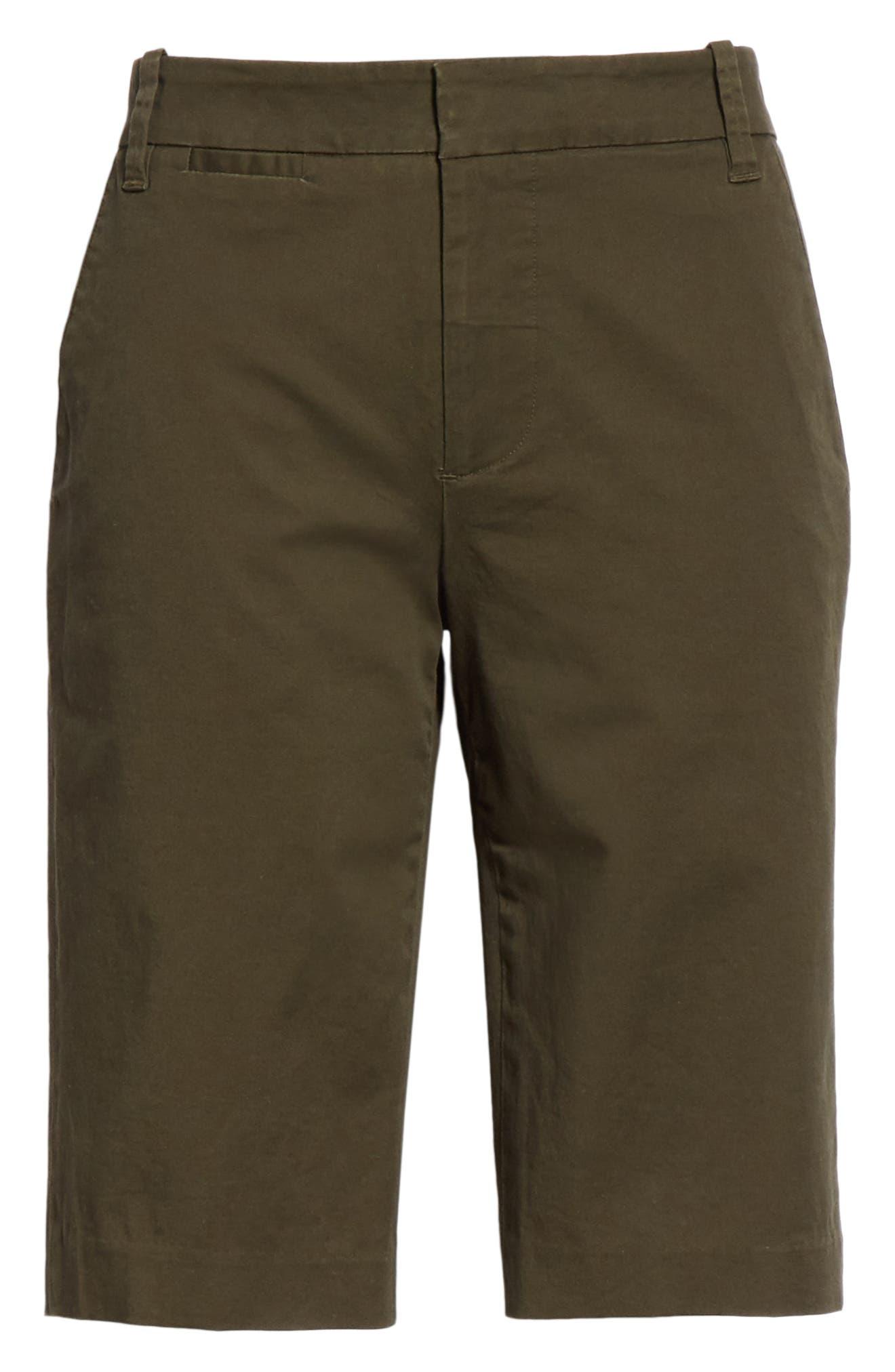 VINCE,                             Bermuda Shorts,                             Alternate thumbnail 6, color,                             ALPINE