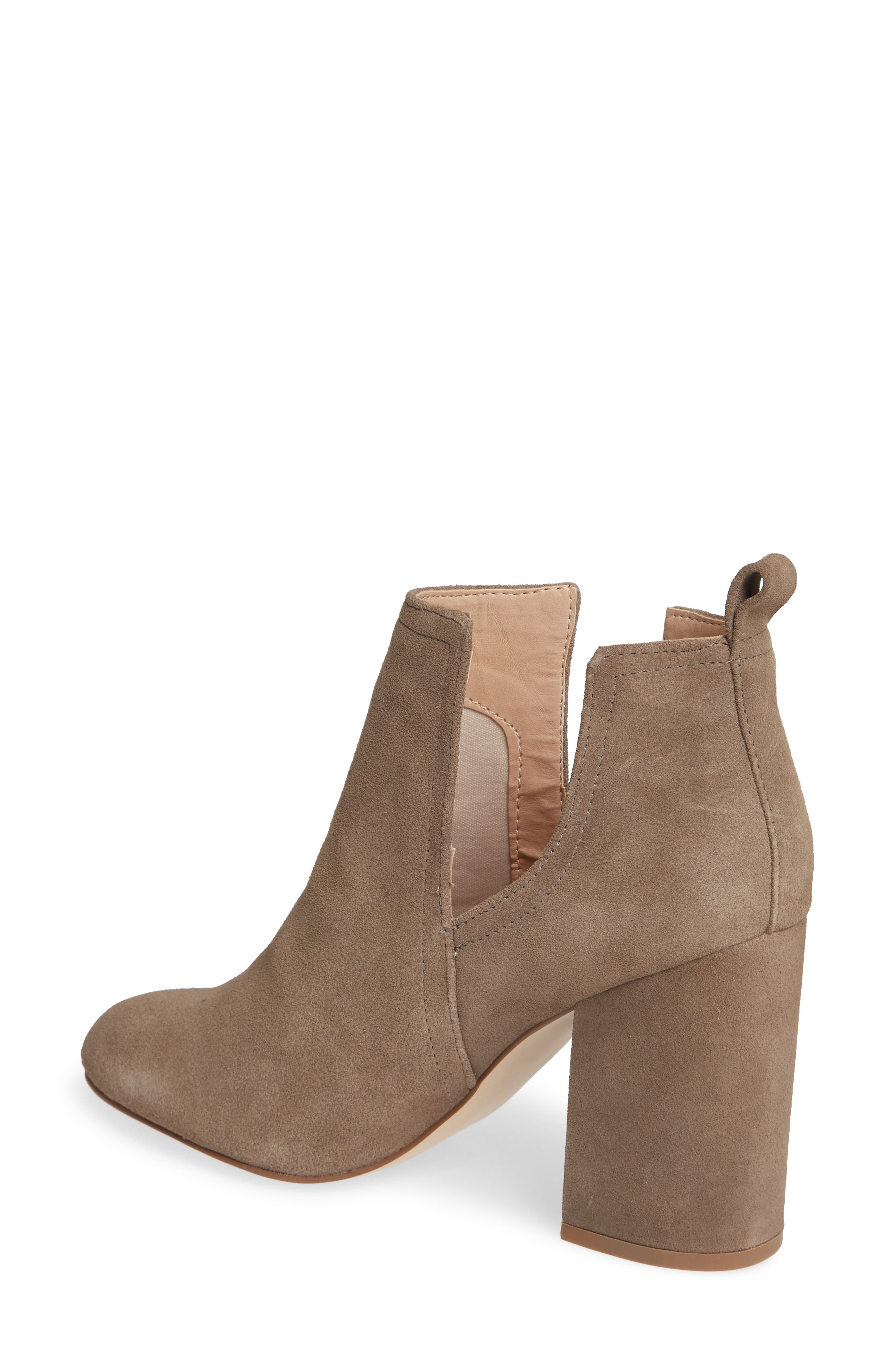 Nayna Bootie,                             Alternate thumbnail 2, color,                             DARK TAUPE