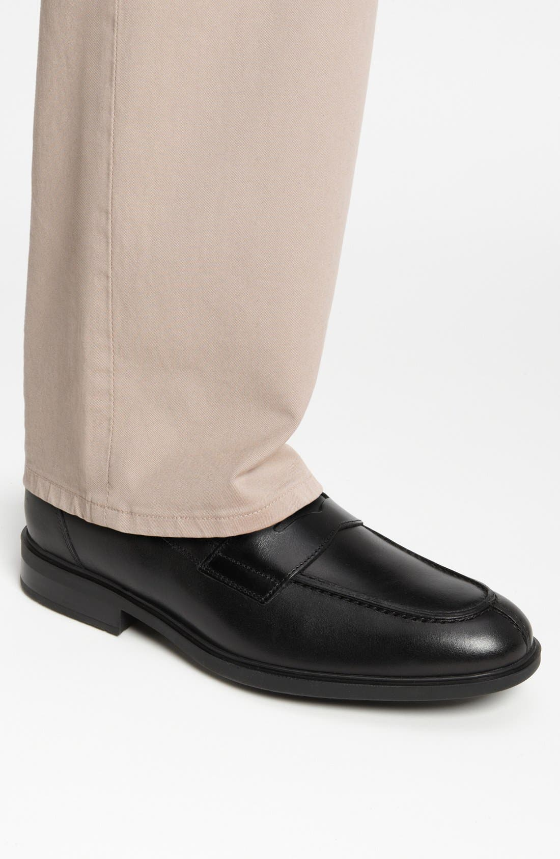 Fortino Loafer,                             Alternate thumbnail 9, color,                             001