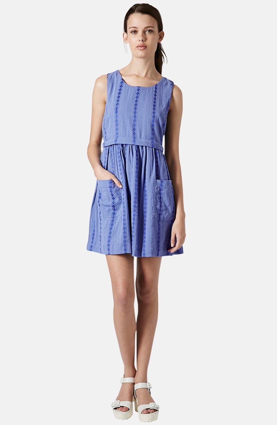Overlay Tunic Dress,                             Alternate thumbnail 2, color,                             420
