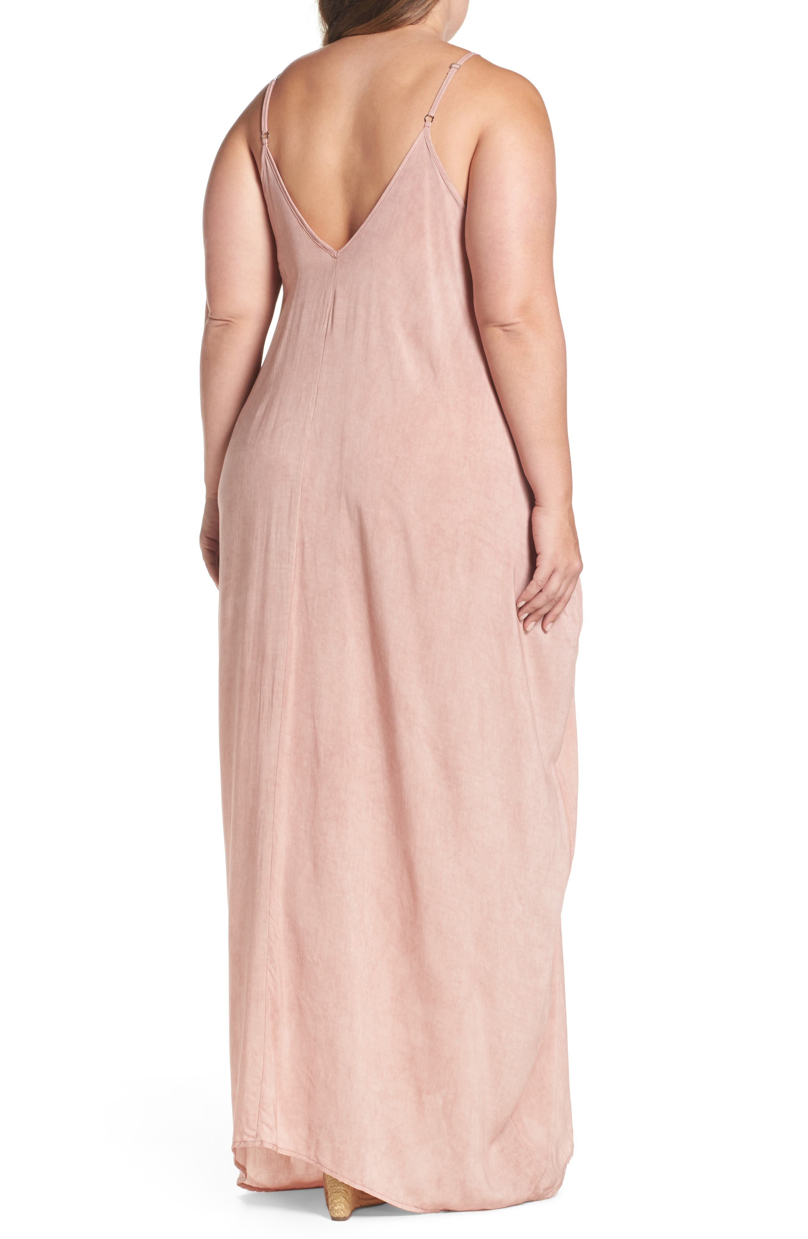 Cover-Up Maxi Dress,                             Alternate thumbnail 9, color,
